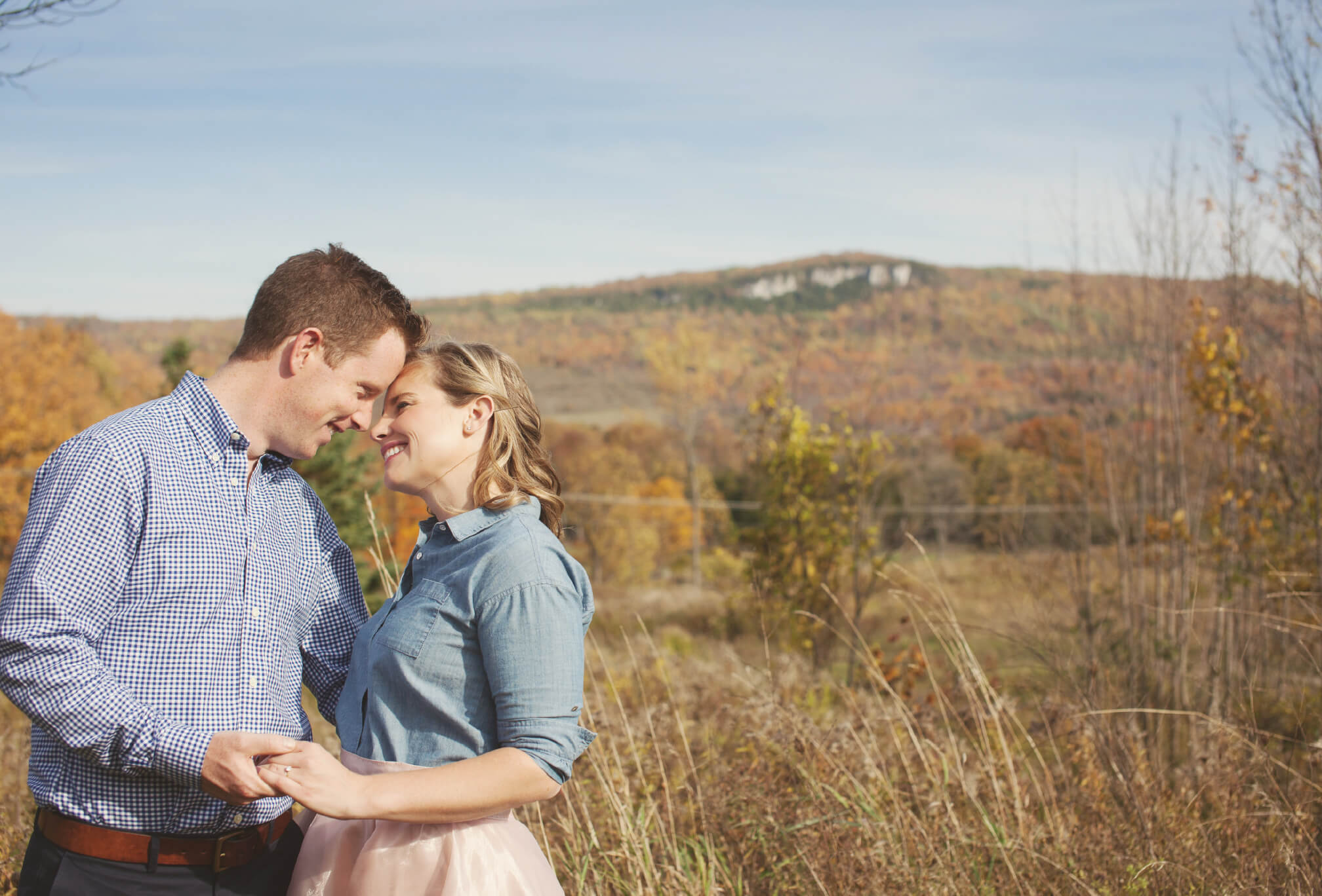 old baldy engagement session
