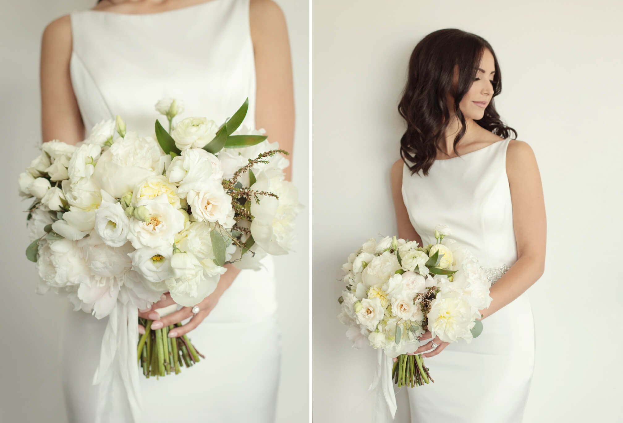 bride bouquet detials
