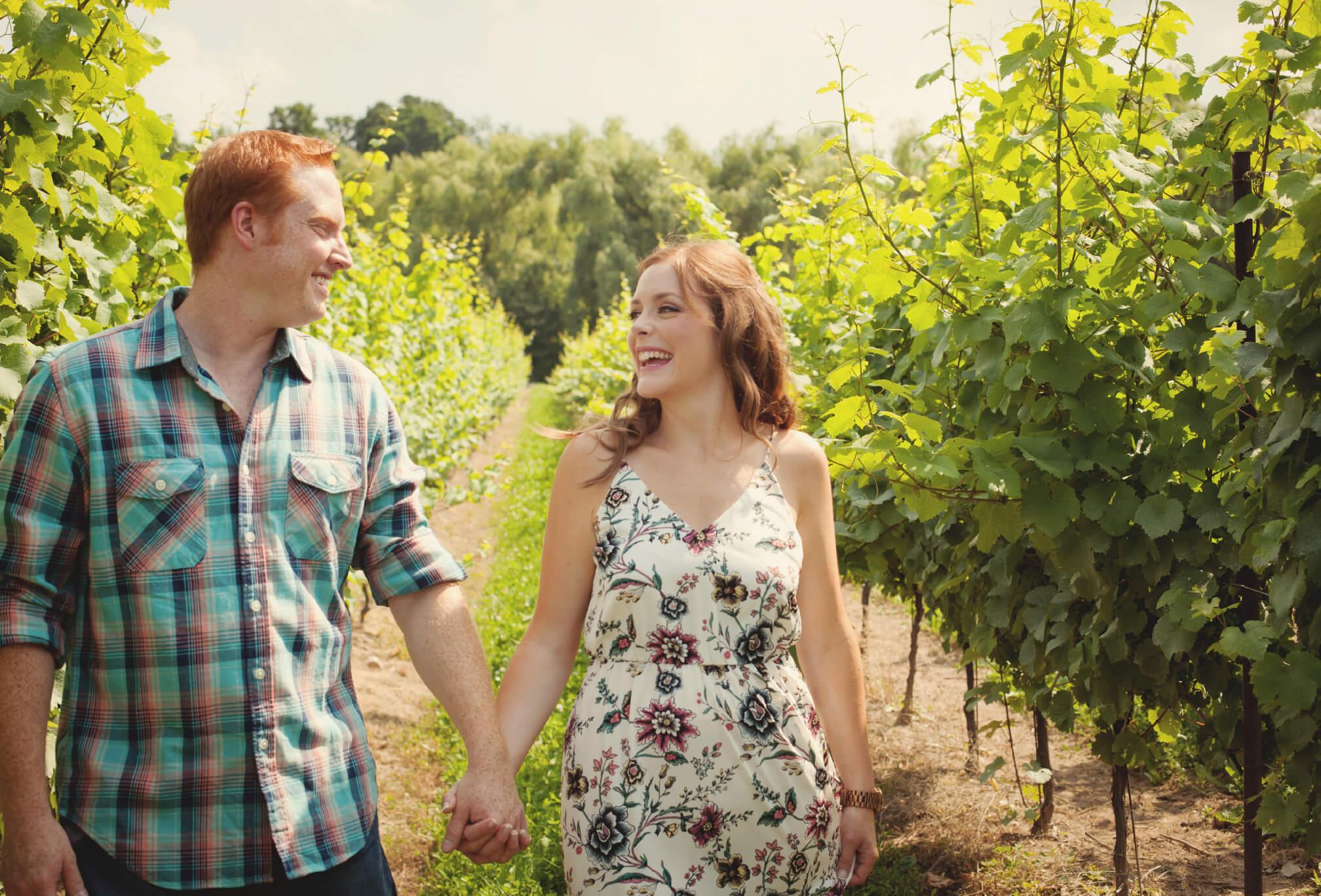 vineland niagara winery engagement