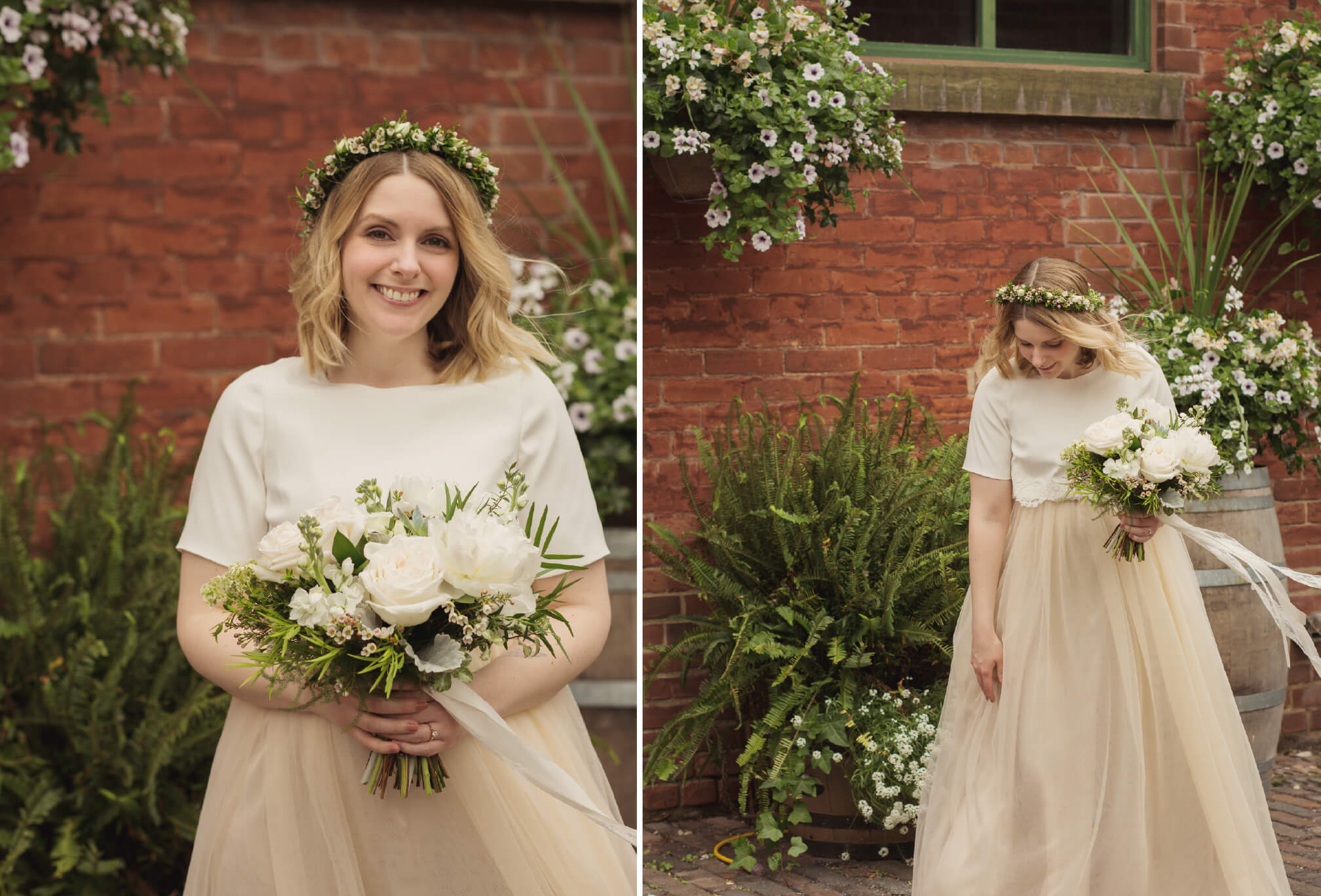 flower crown bride style toronto