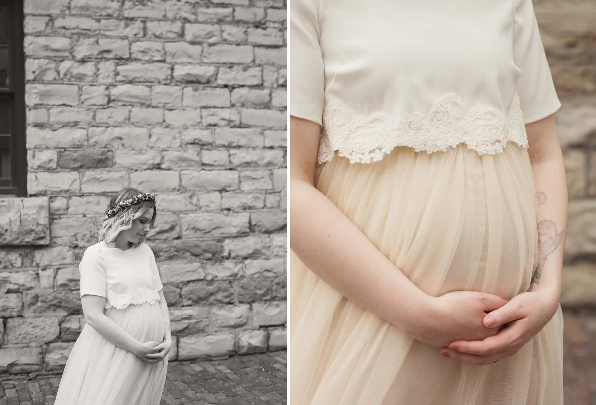 pregnant bride style