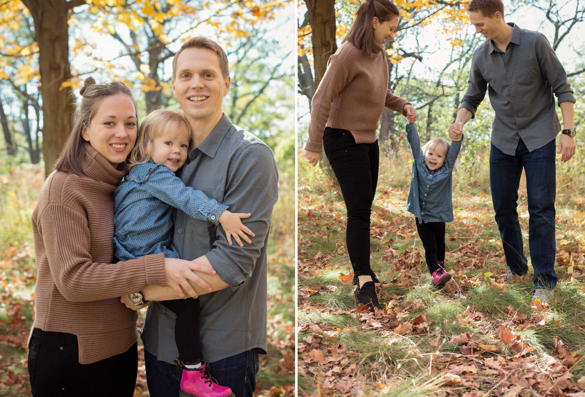 family in high park photography