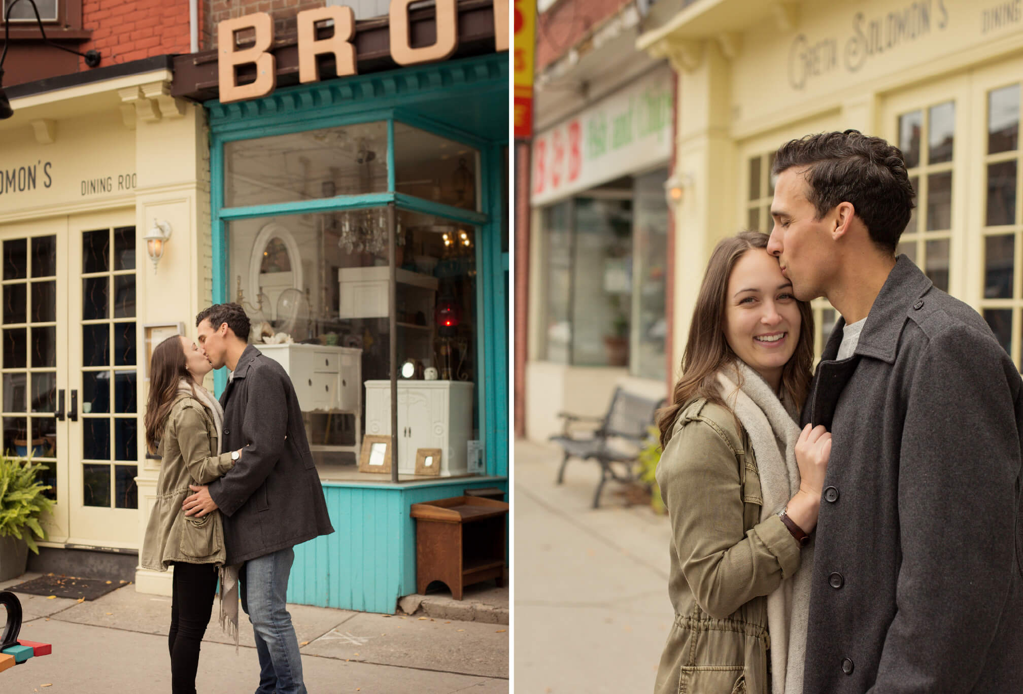 leslieville engagement