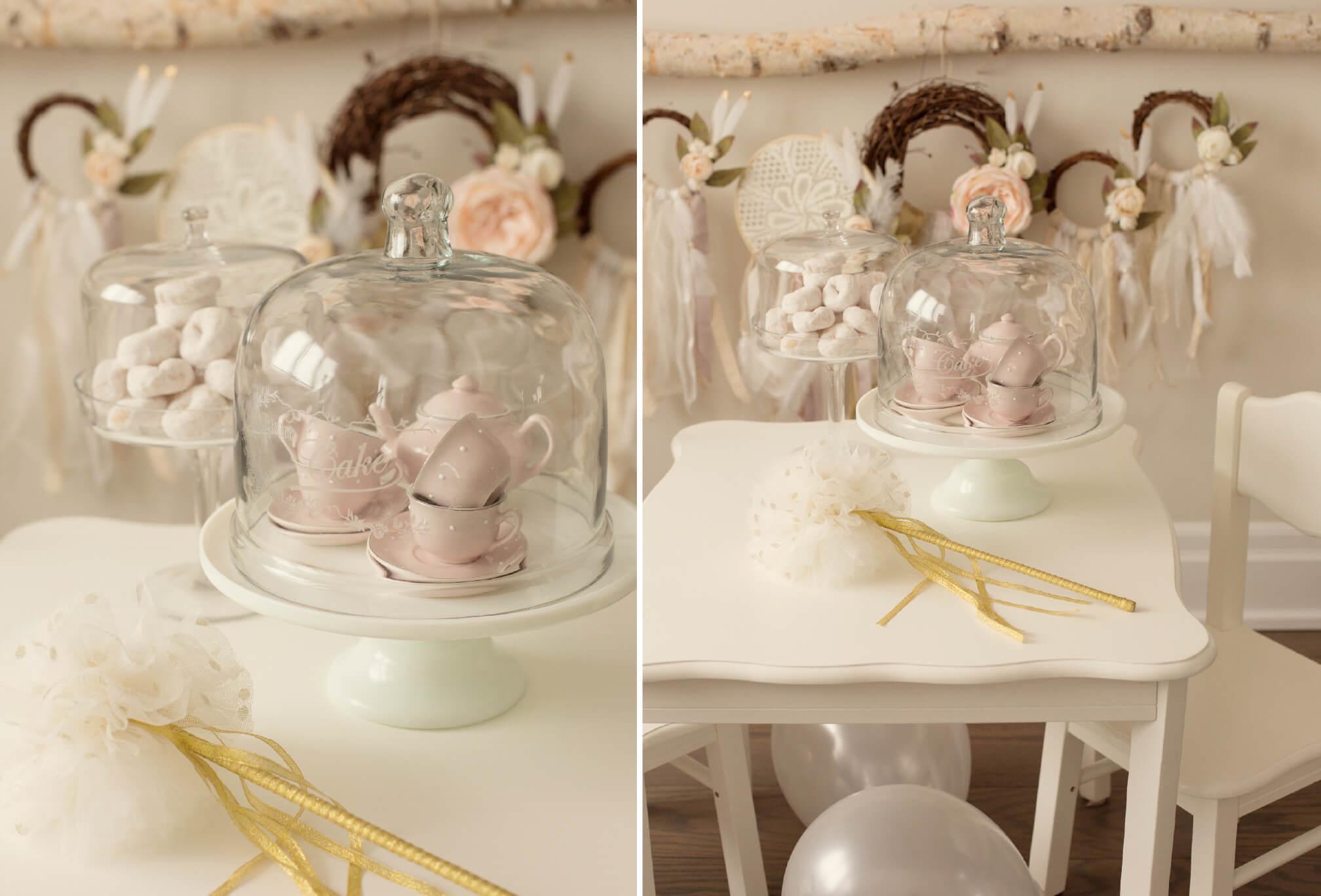 baby tea party design photoshoot