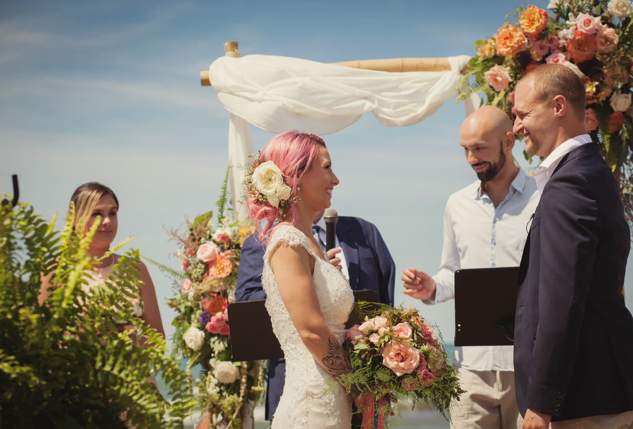 beachfront ceremony ideas