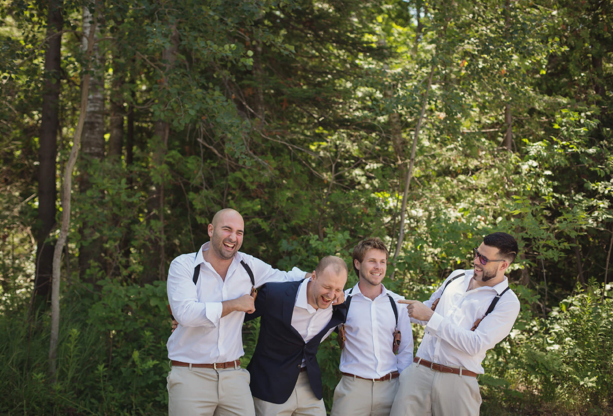 casual beach attire groomsmen