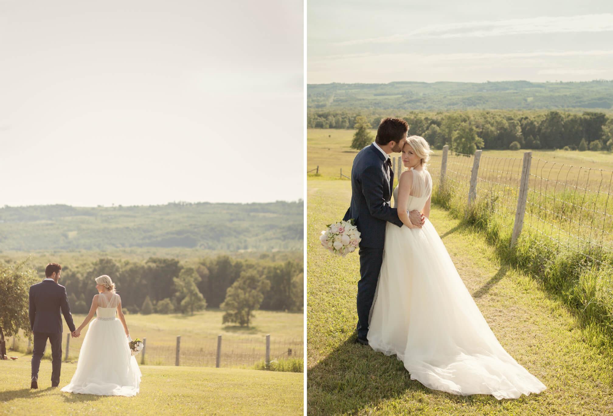 outdoor farm wedding blue mountains