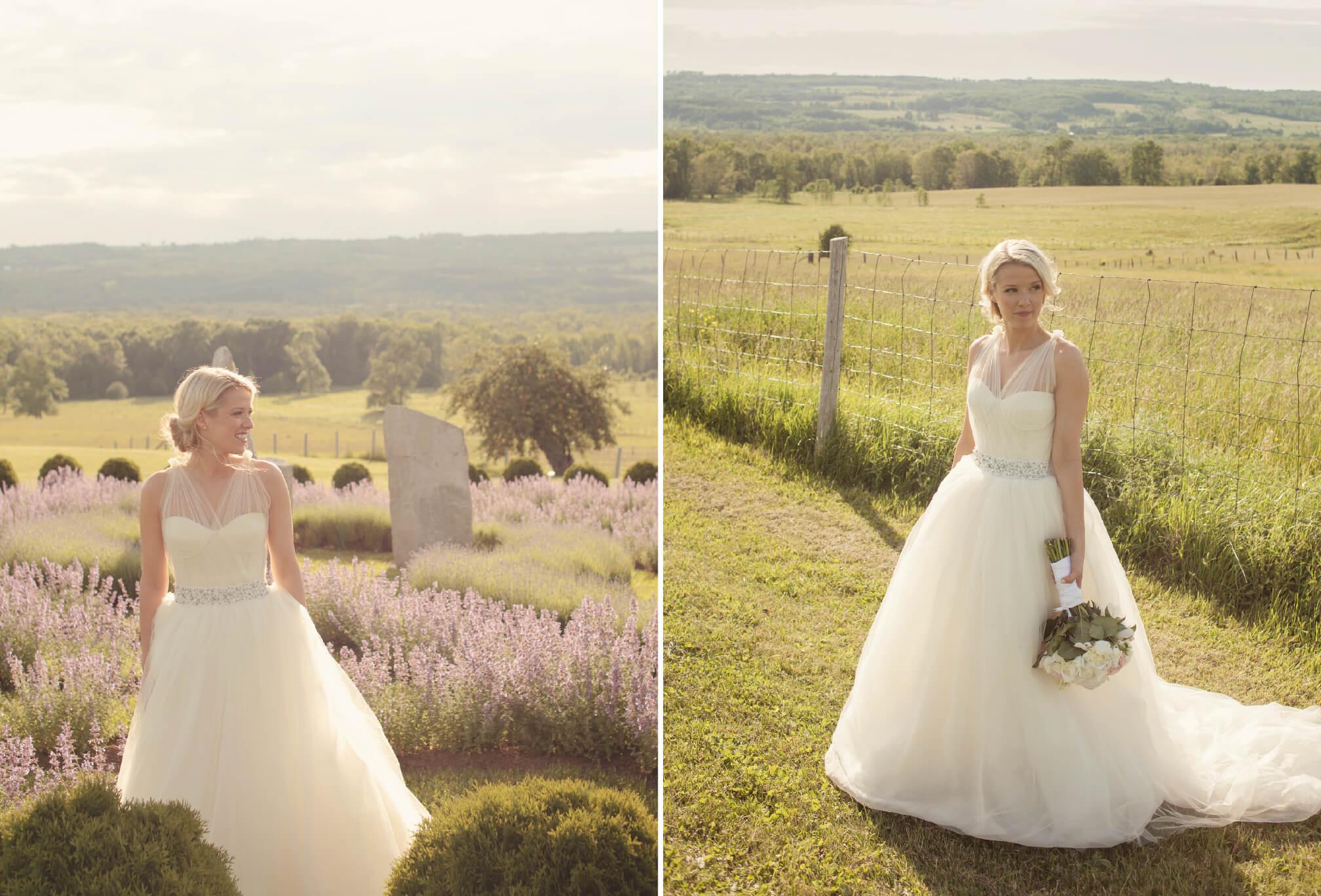 country bride vera wang dress