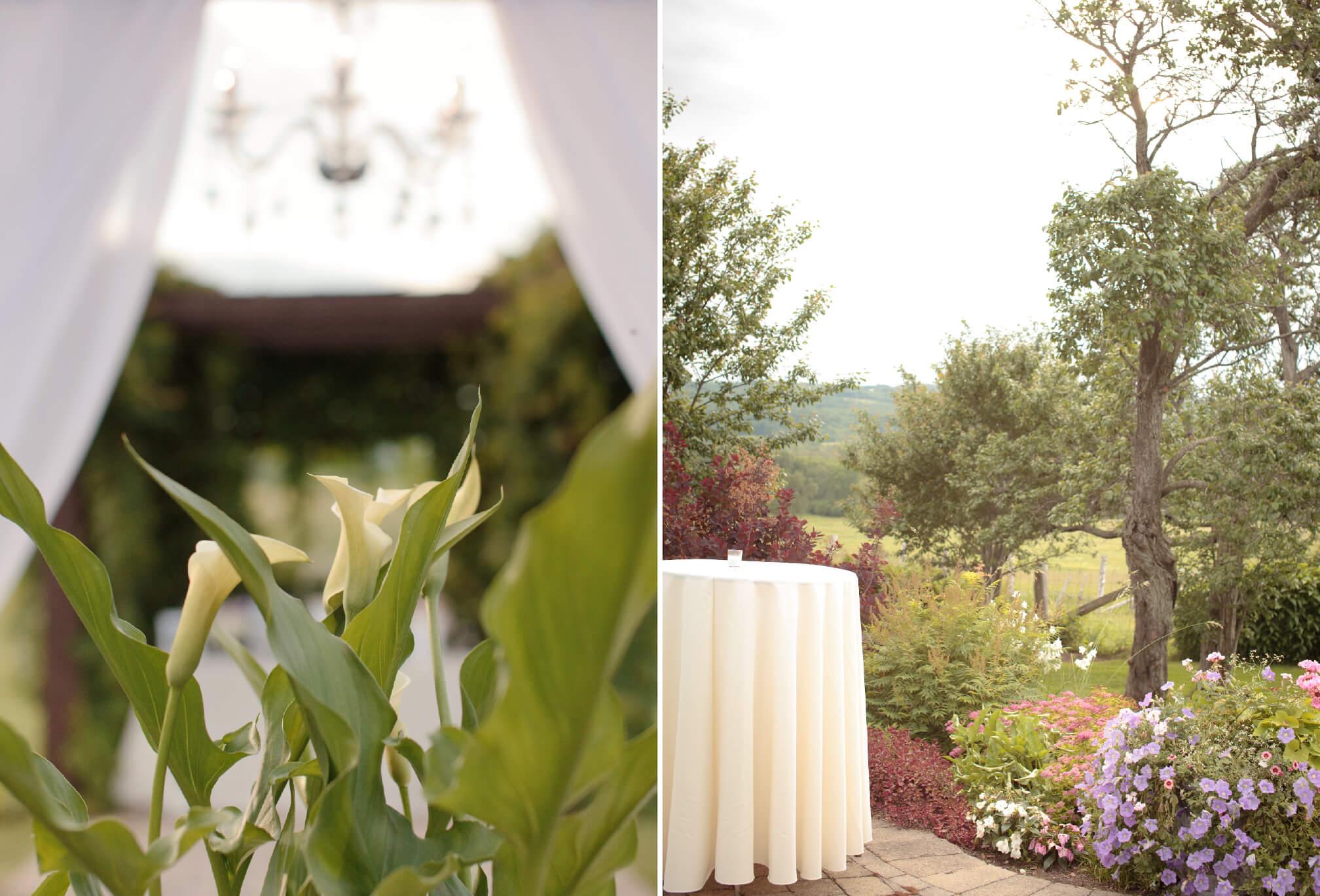 spring garden wedding ontario