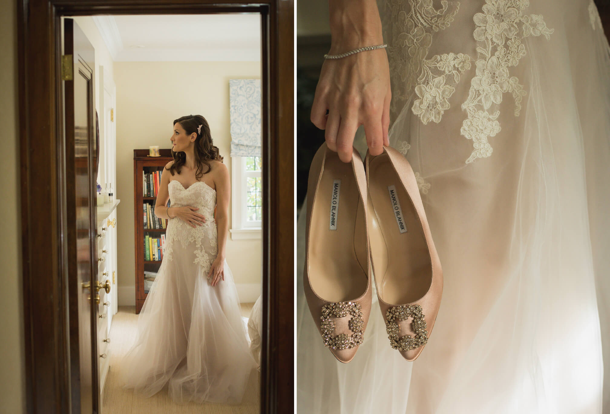 vintage style bridal shoes
