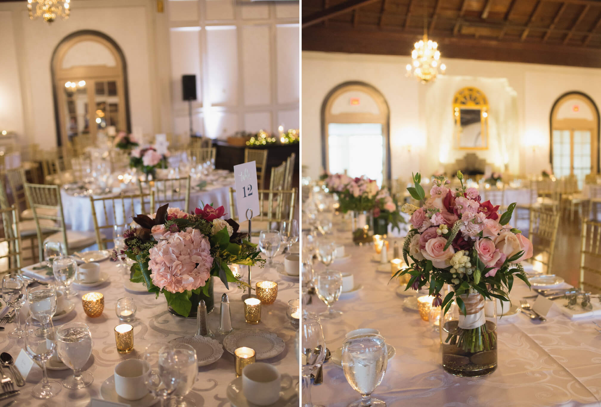 boulevard club wedding decor