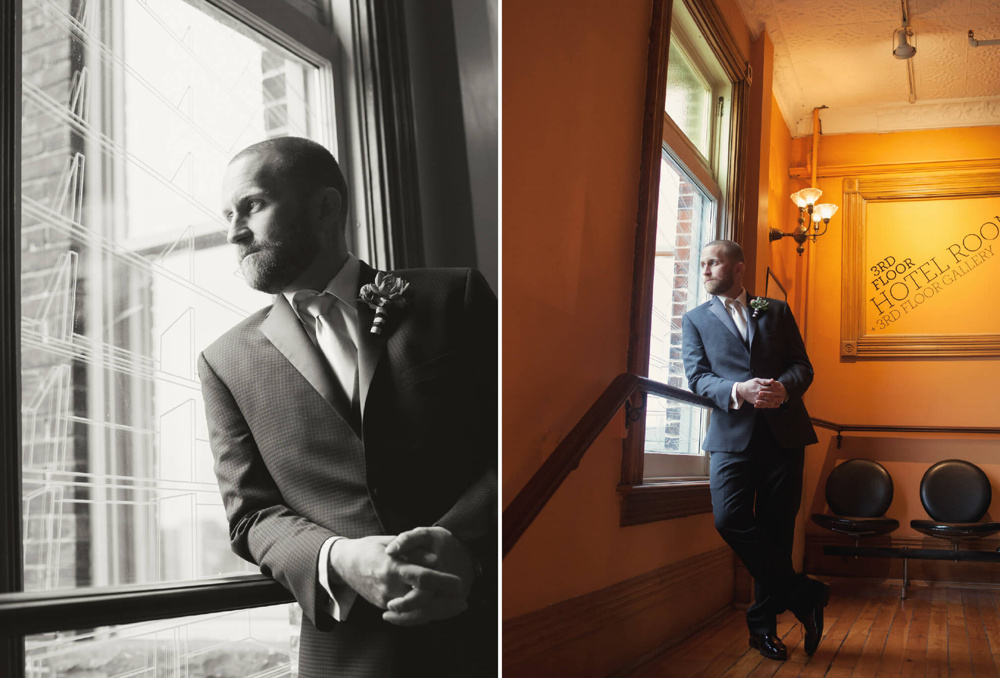 groom at gladstone hotel