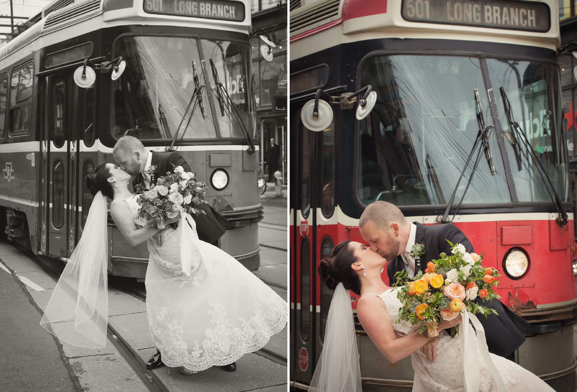 kissing in front of ttc