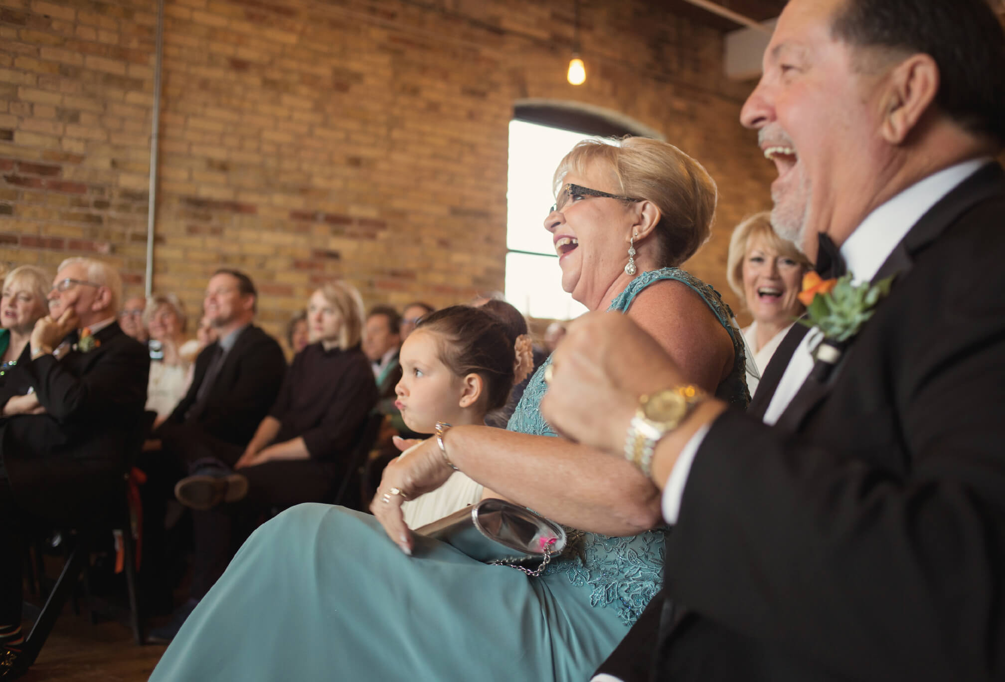 laughing ceremony photography toronto