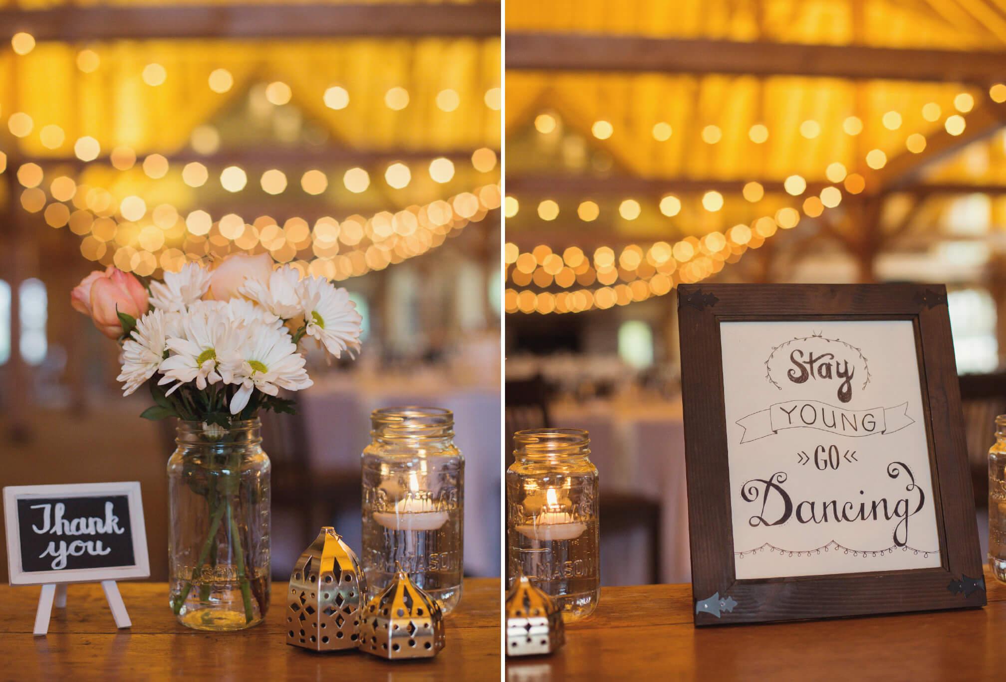 craigleith wedding decor