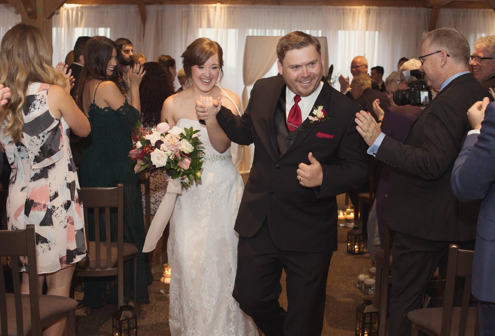craigleith wedding ceremony