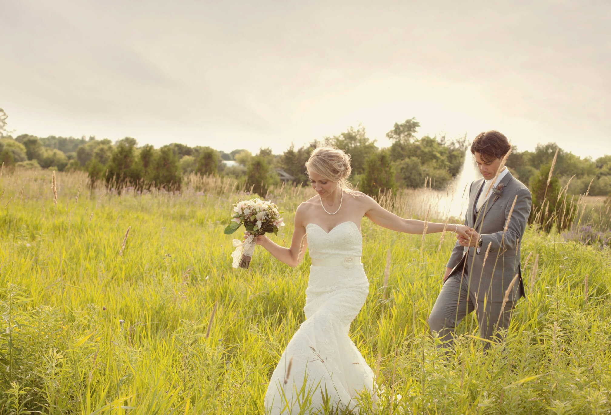 rustic country wedding ontario