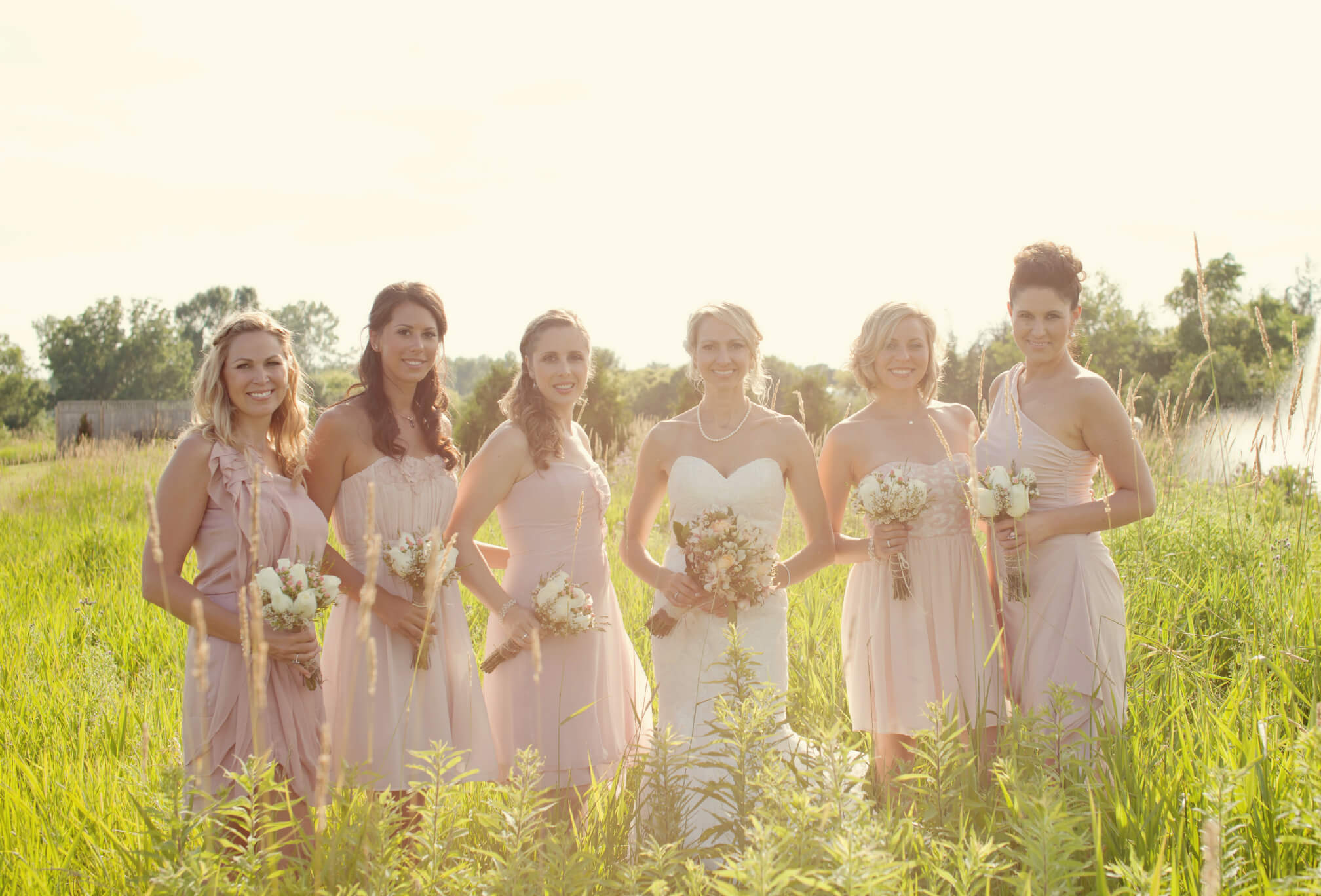 bridesmaids prince edward county