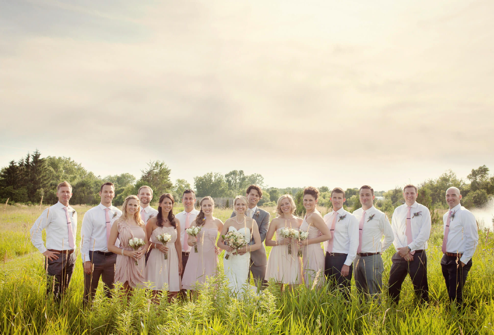 bridal party prince edward county