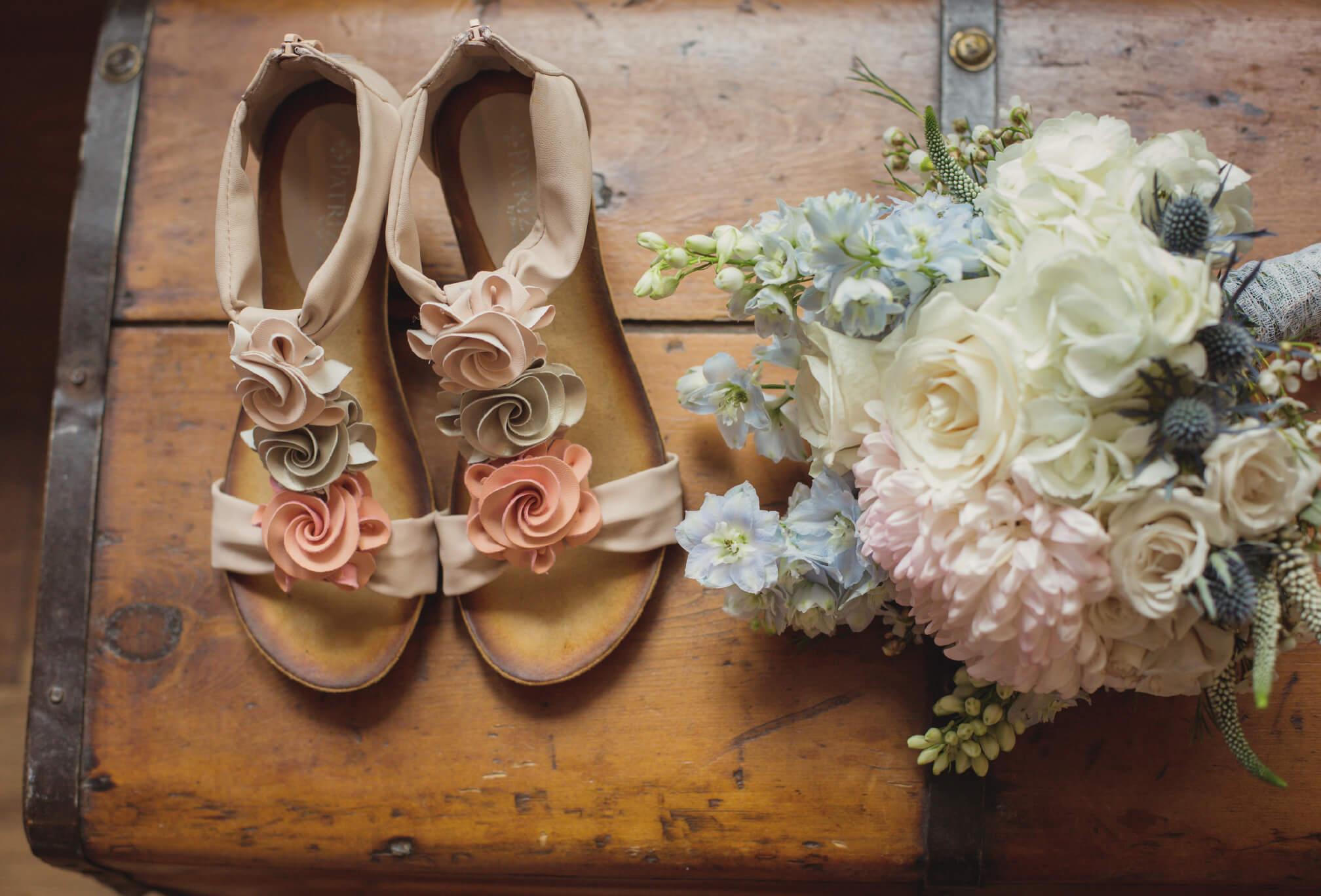 vintage bridal details