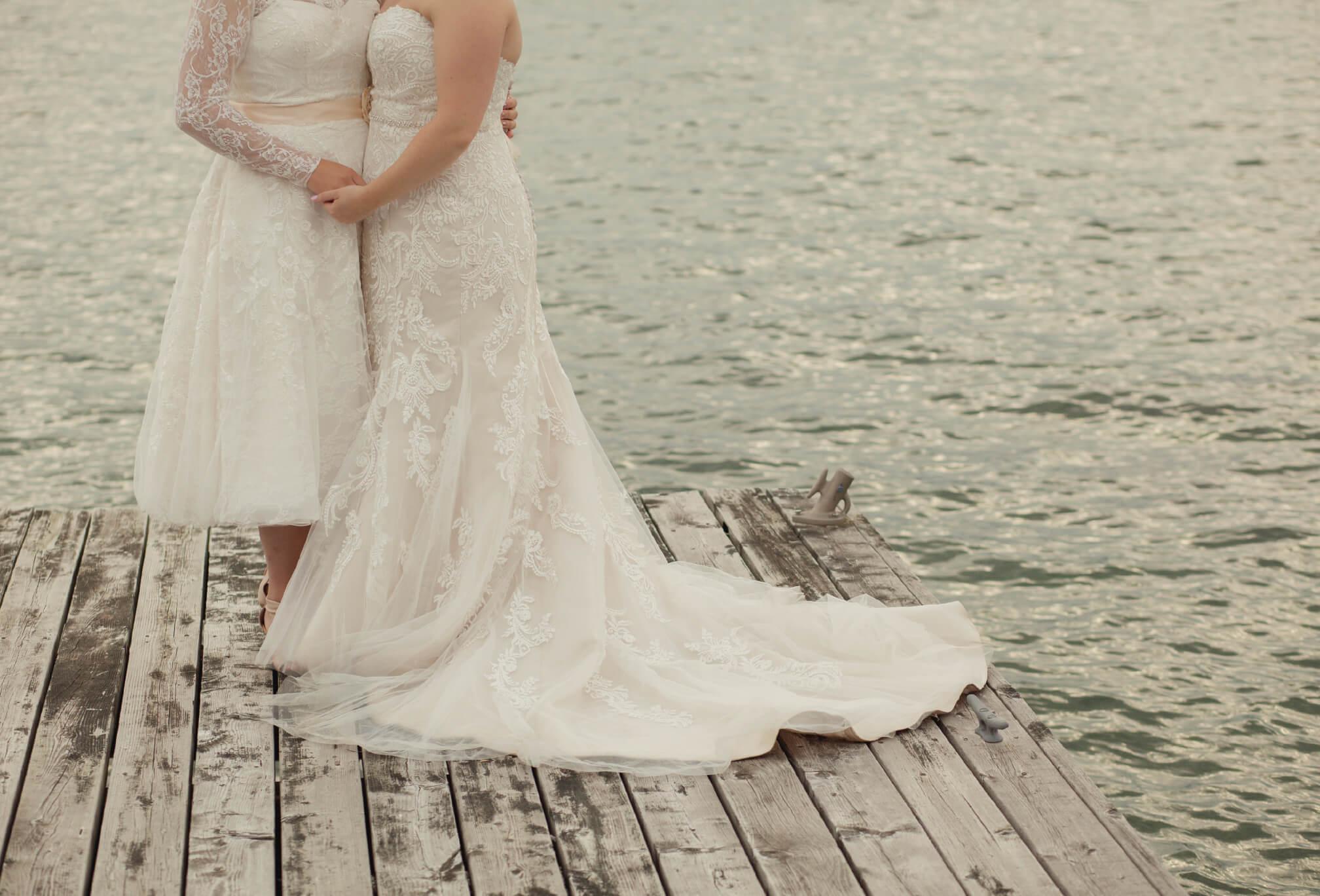 two brides georgian bay