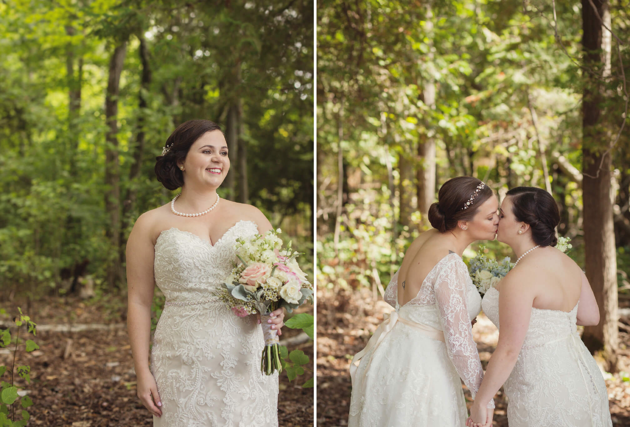 two brides style