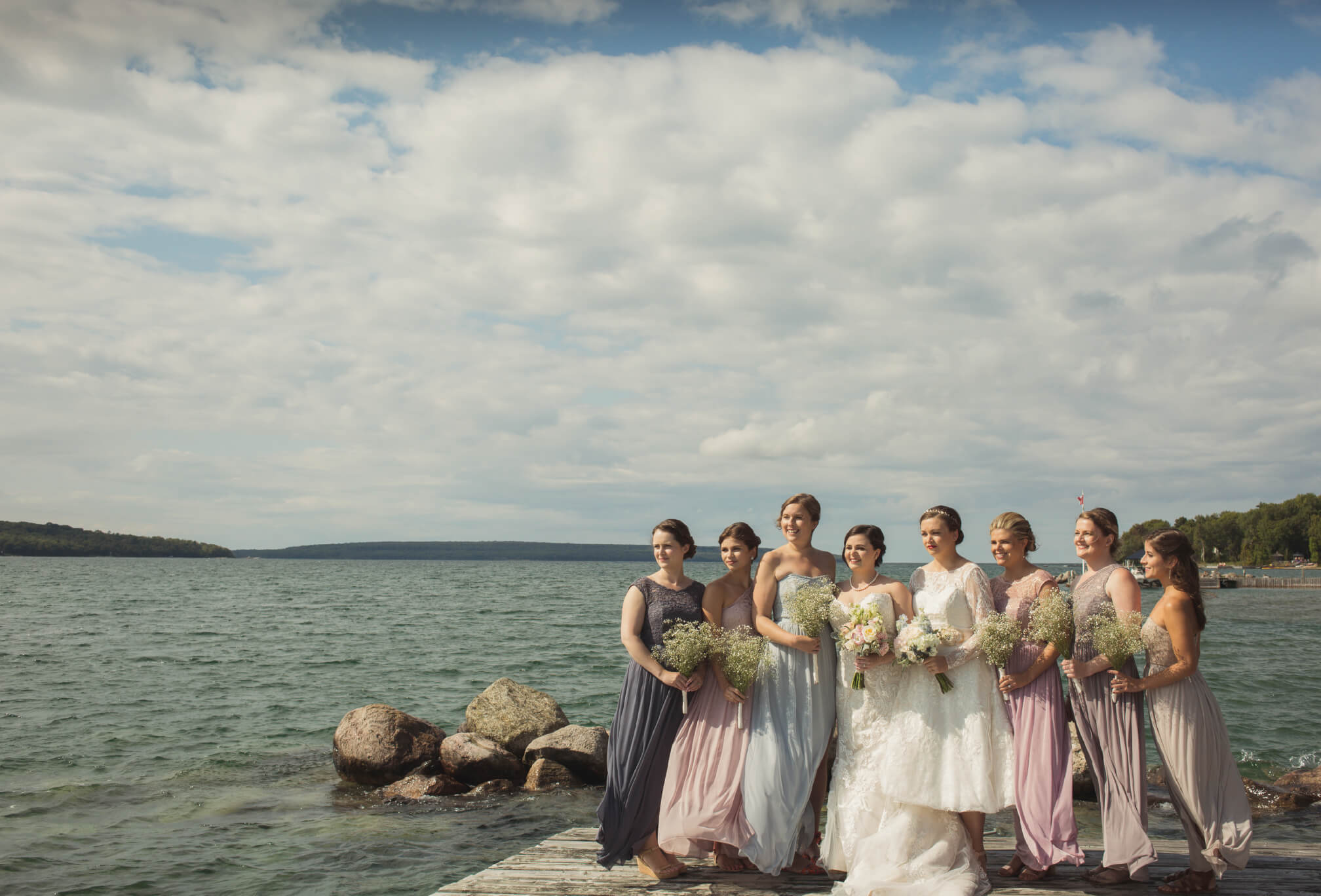 all girl wedding party