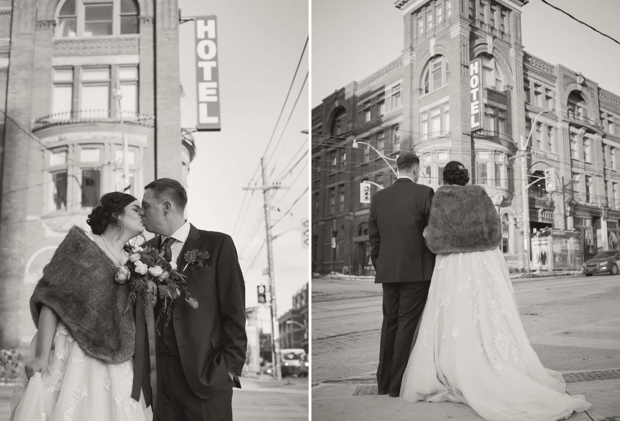 queen west gladstone hotel wedding photos