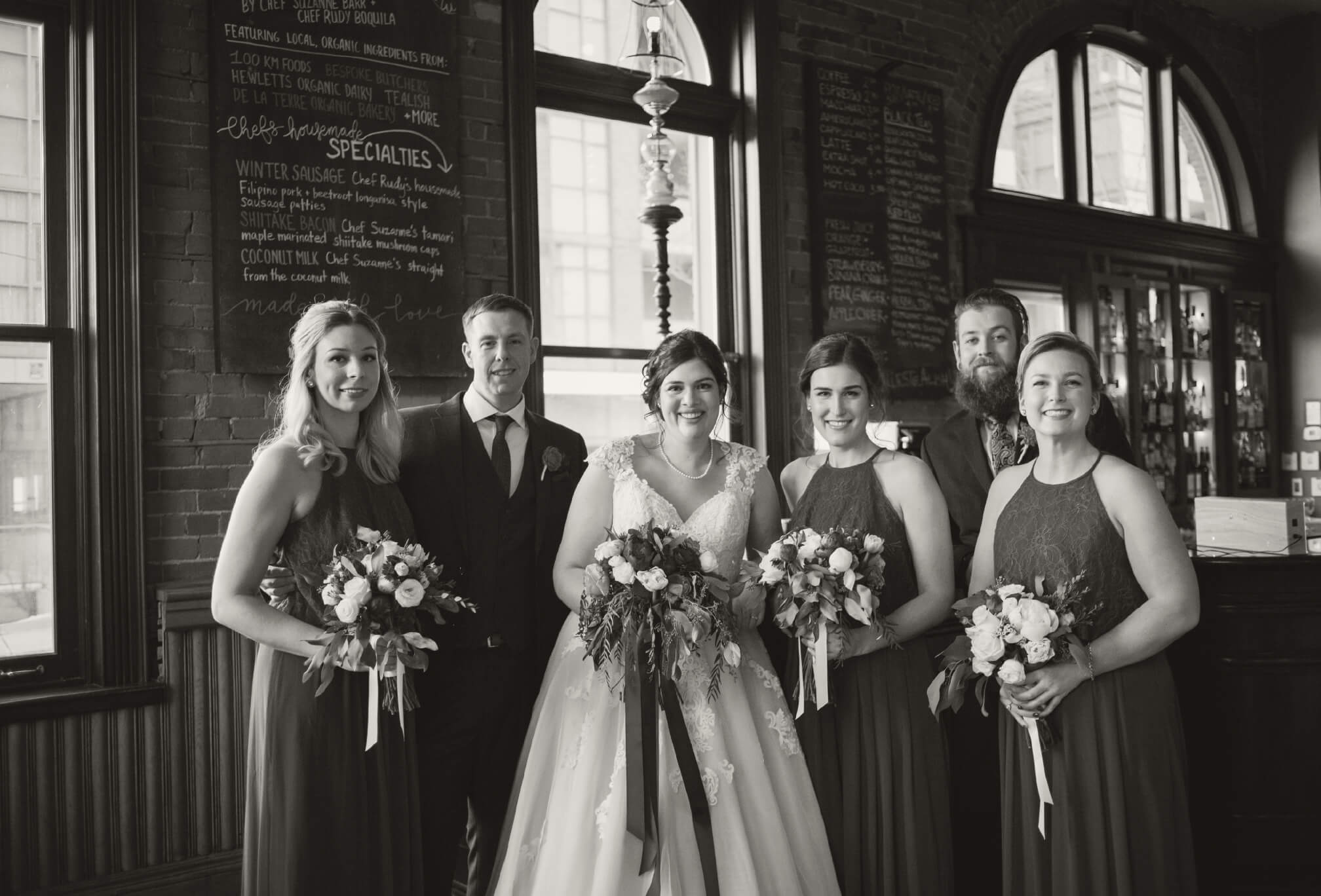 bridal party gladstone hotel