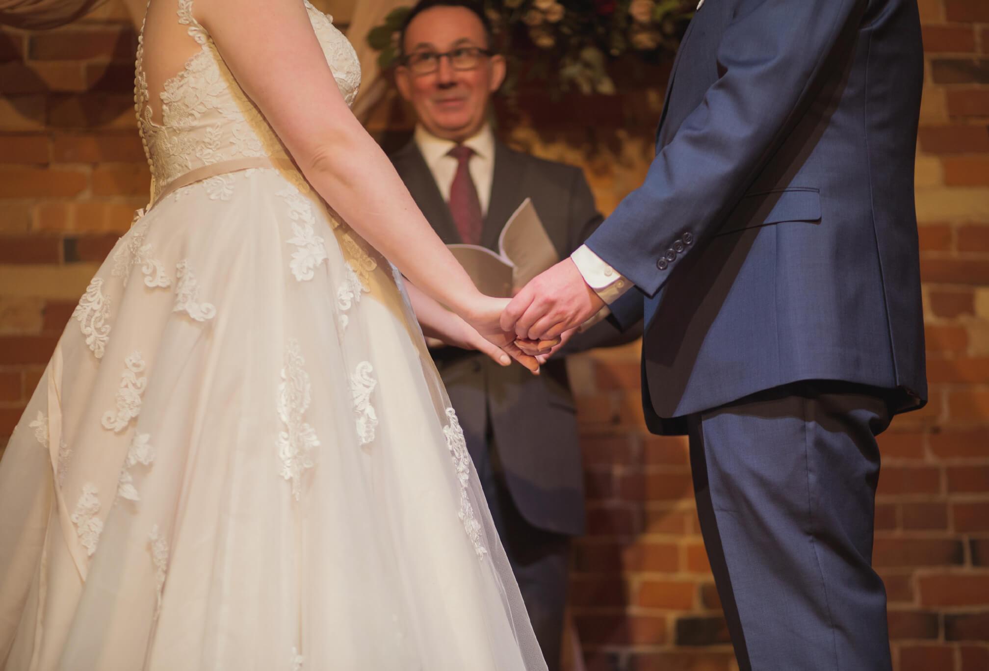 wedding ceremony at gladstone hotel