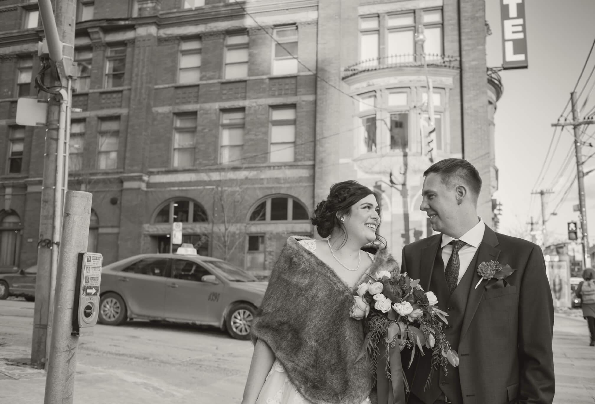 queen west wedding photos