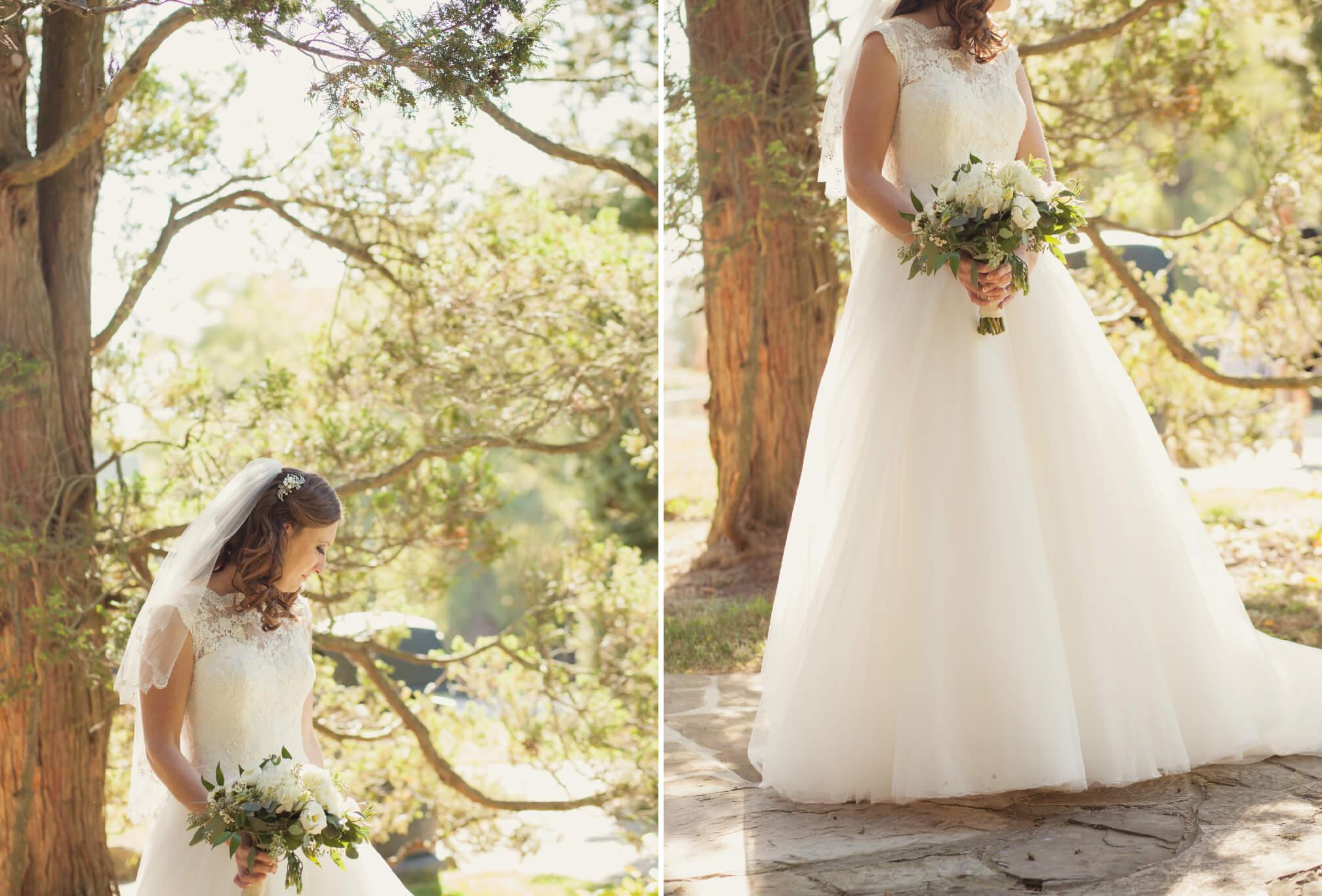 bride at gairloch gardens oakville