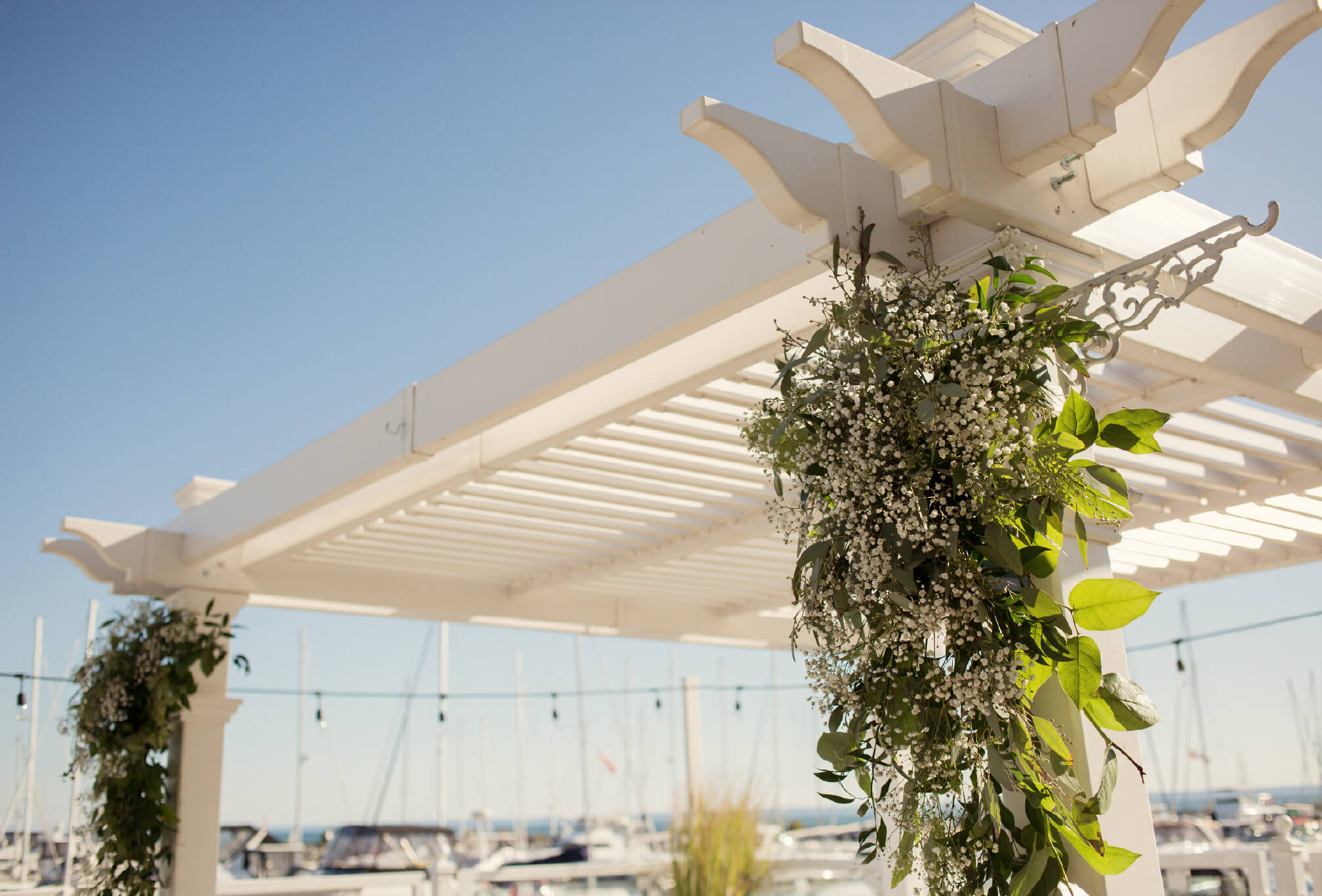 wedding decor oakville harbour