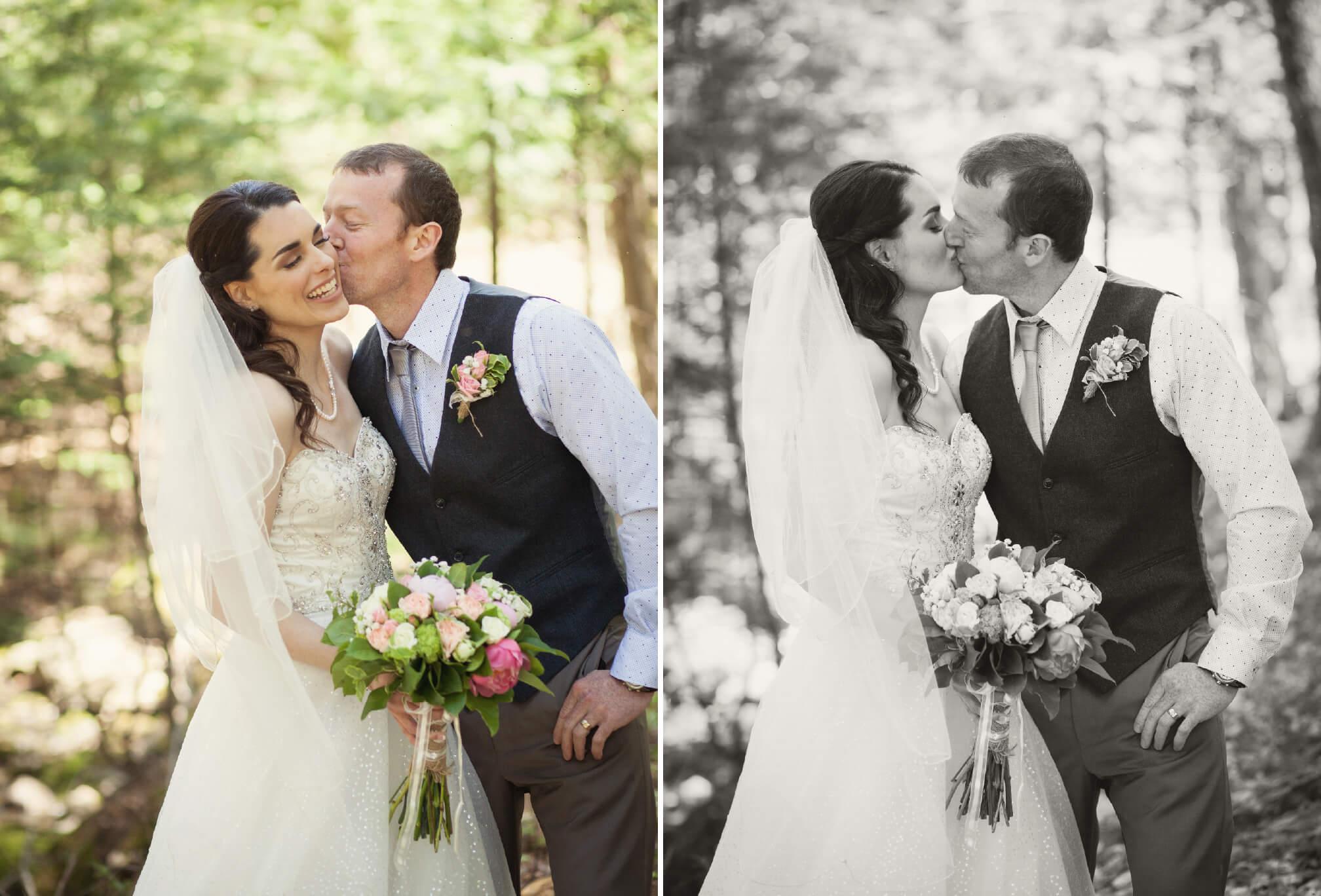 bride and groom powassan ontario
