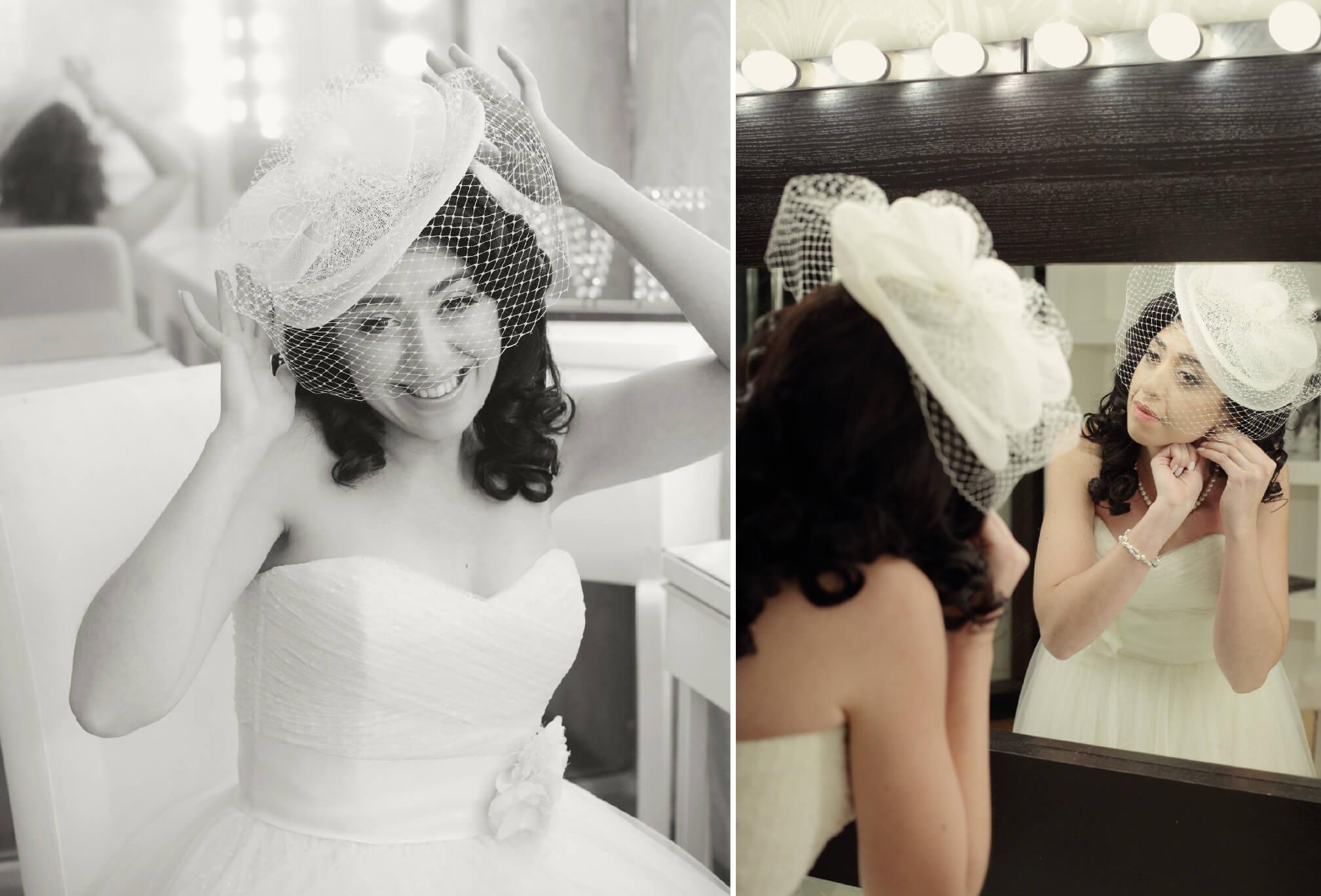 vintage bride style
