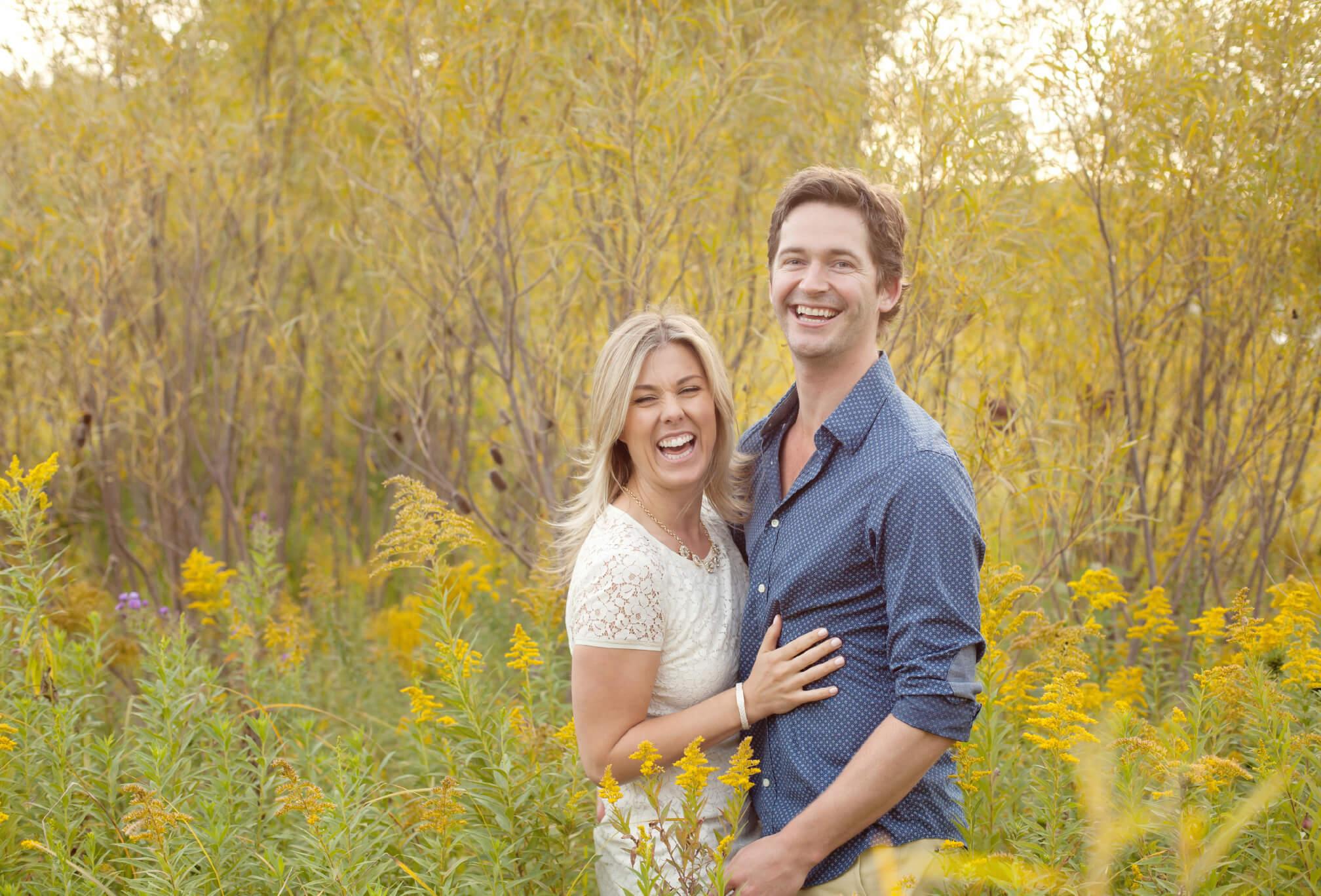 toronto waterfront couple engagement