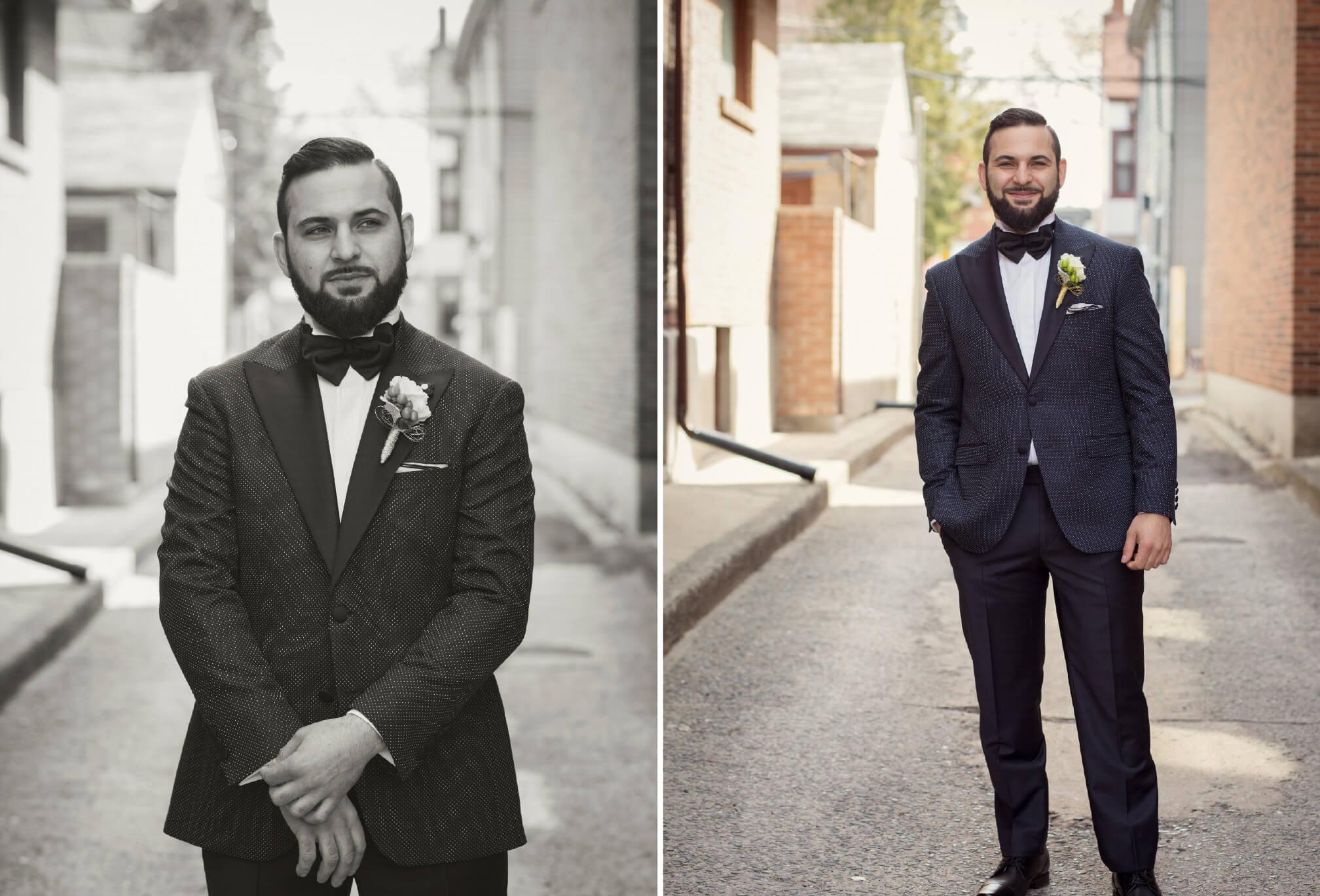 toronto groom photo