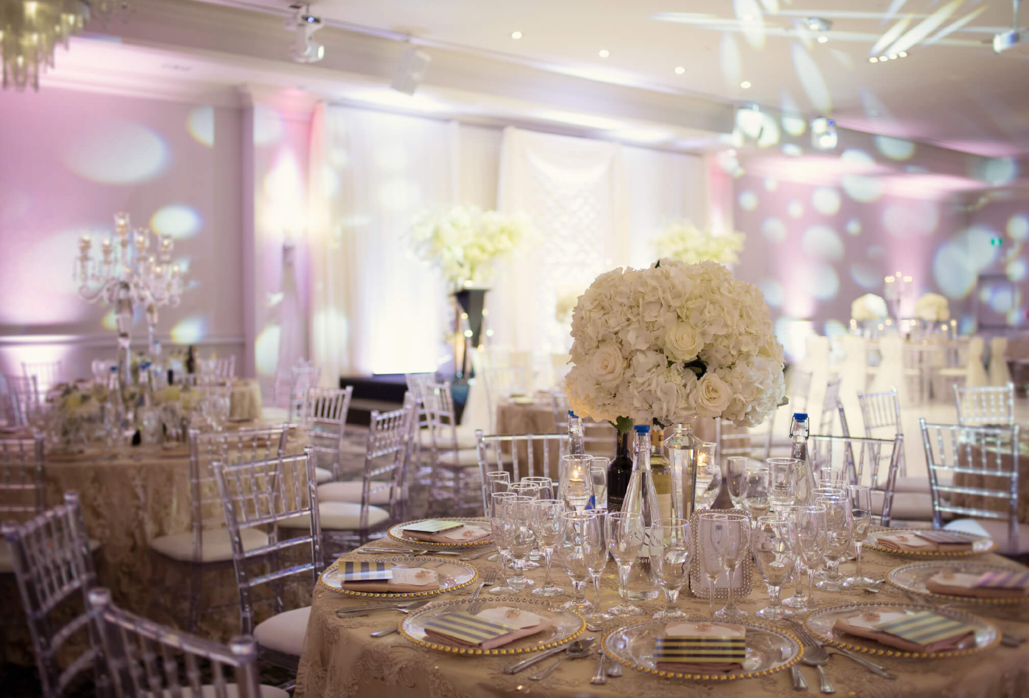 parkview manor wedding decor