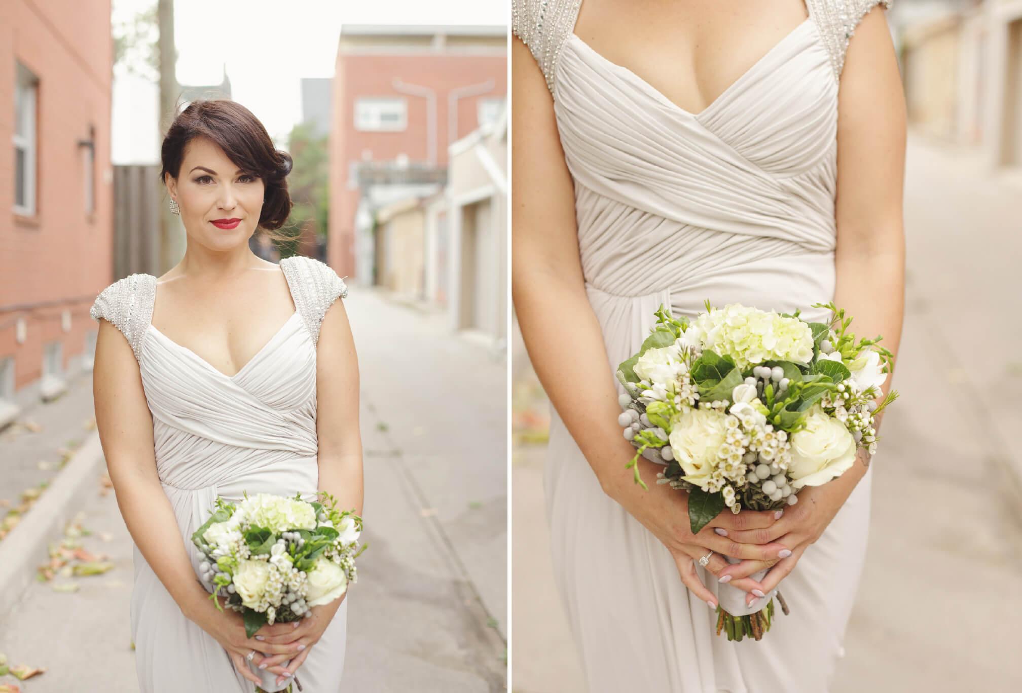 vintage dress bride toronto