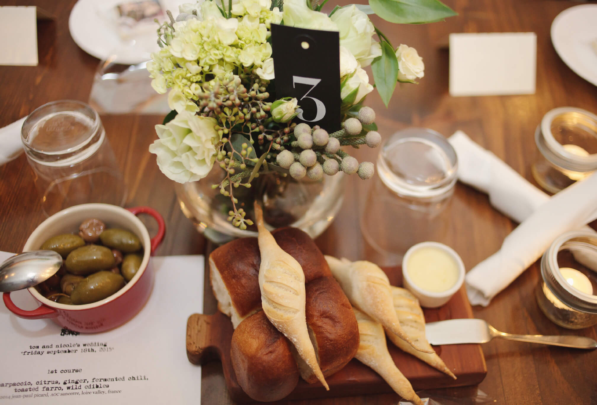 wedding decor the beast restaurant toronto