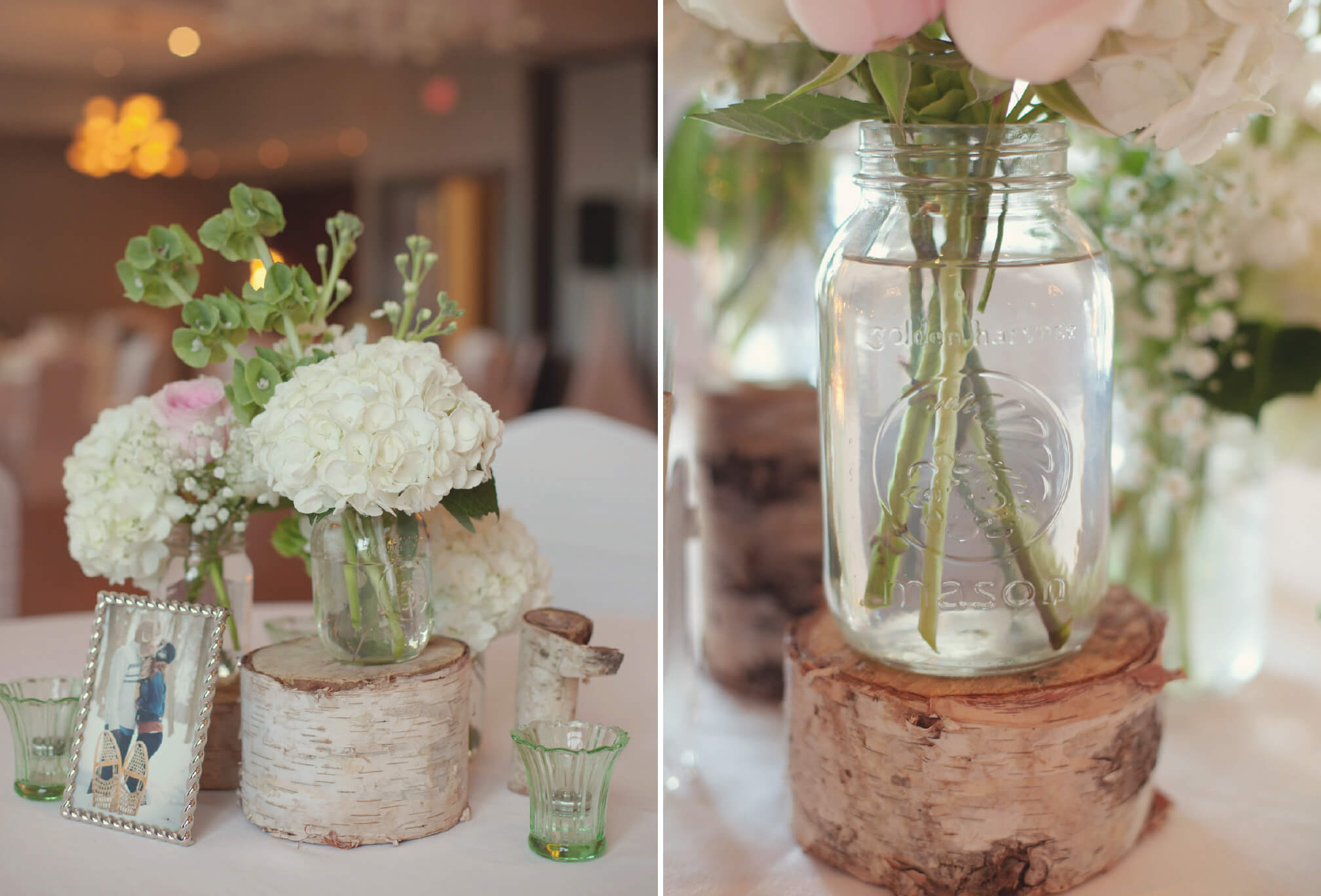 rustic wedding decor bear estate collingwood