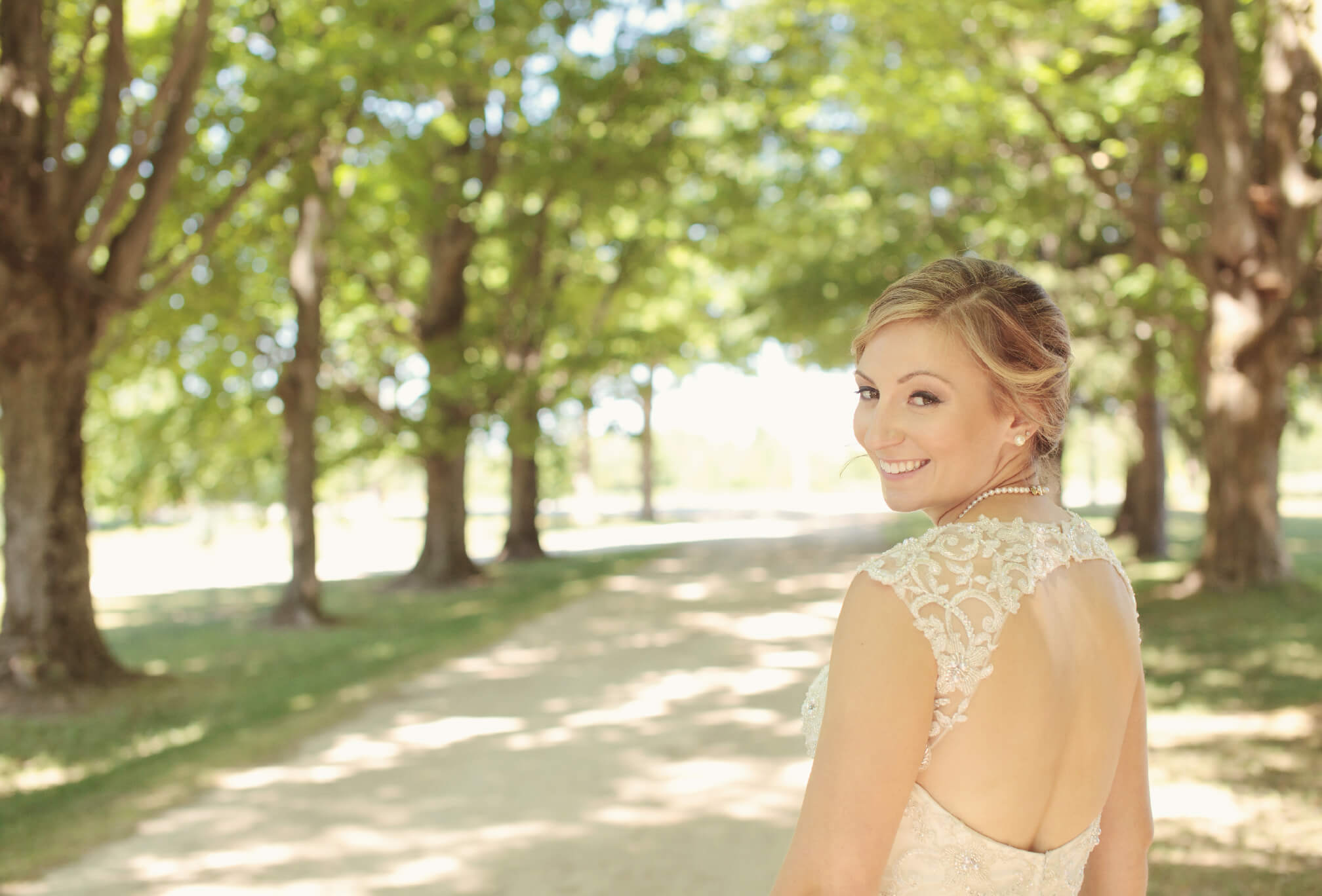 country bride lace dress