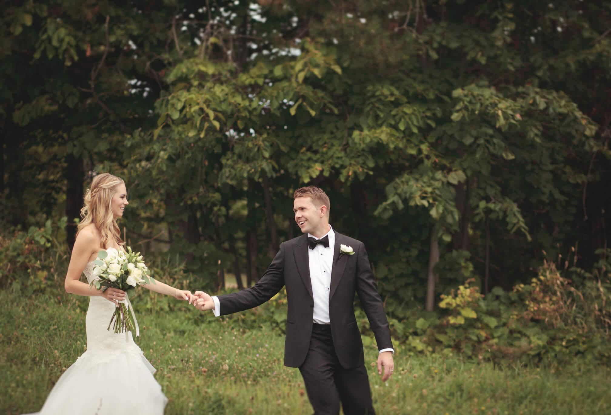 wedding photography at craigleith ski club