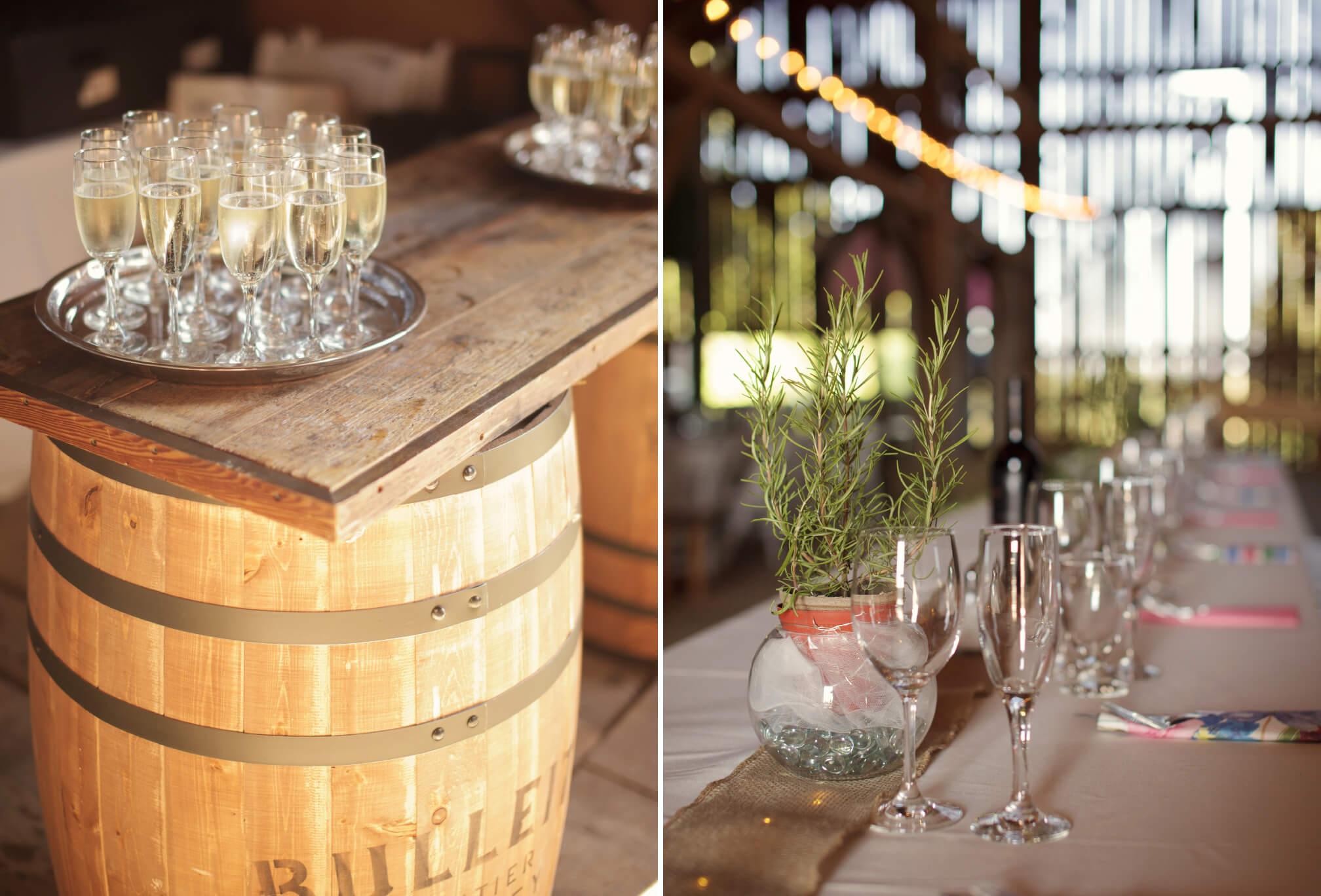 romantic barn wedding ontario