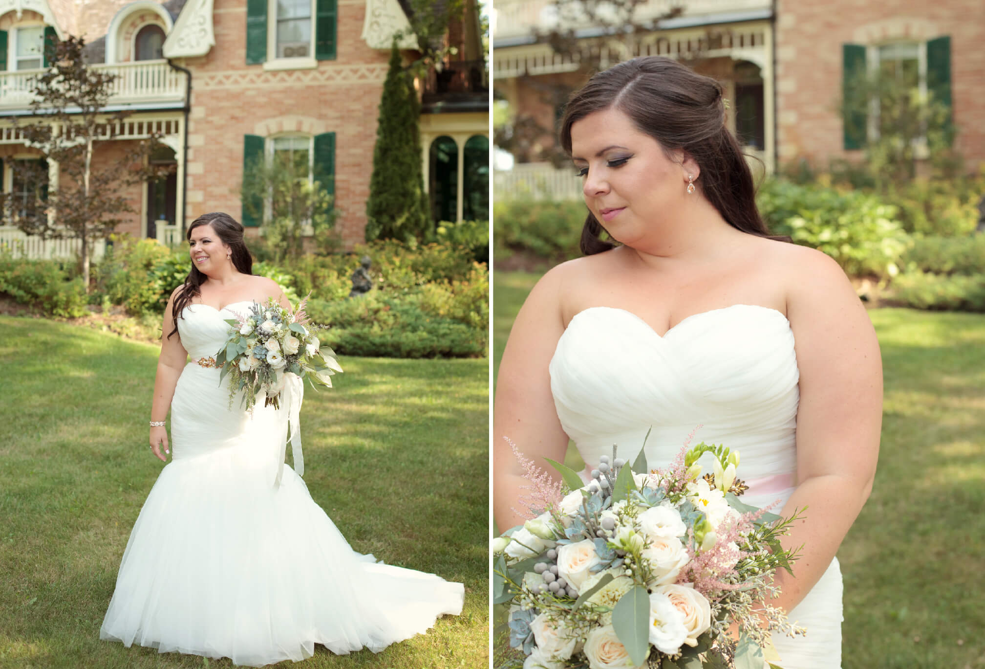 bride at belcroft estates