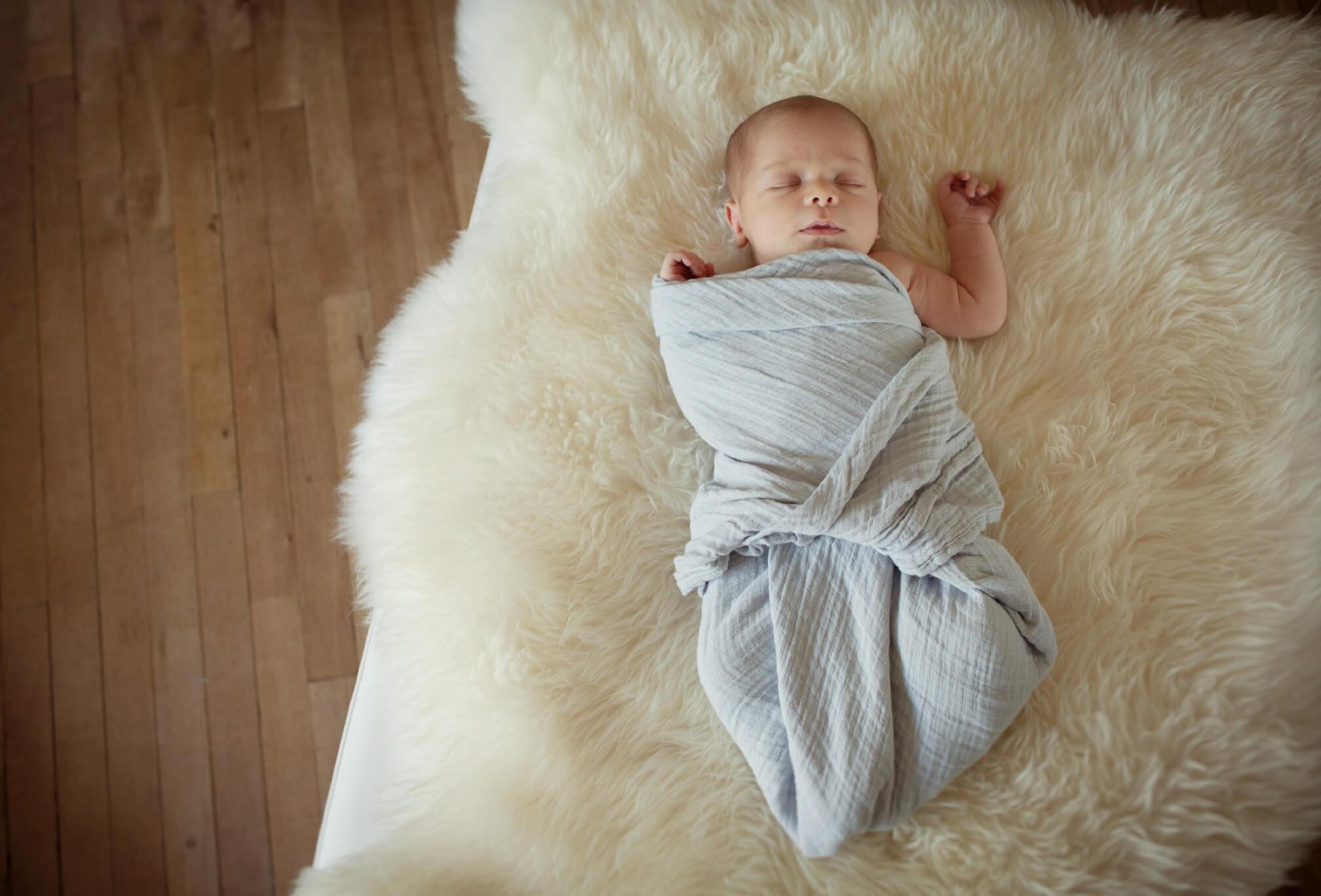 newborn baby swaddle collingwood