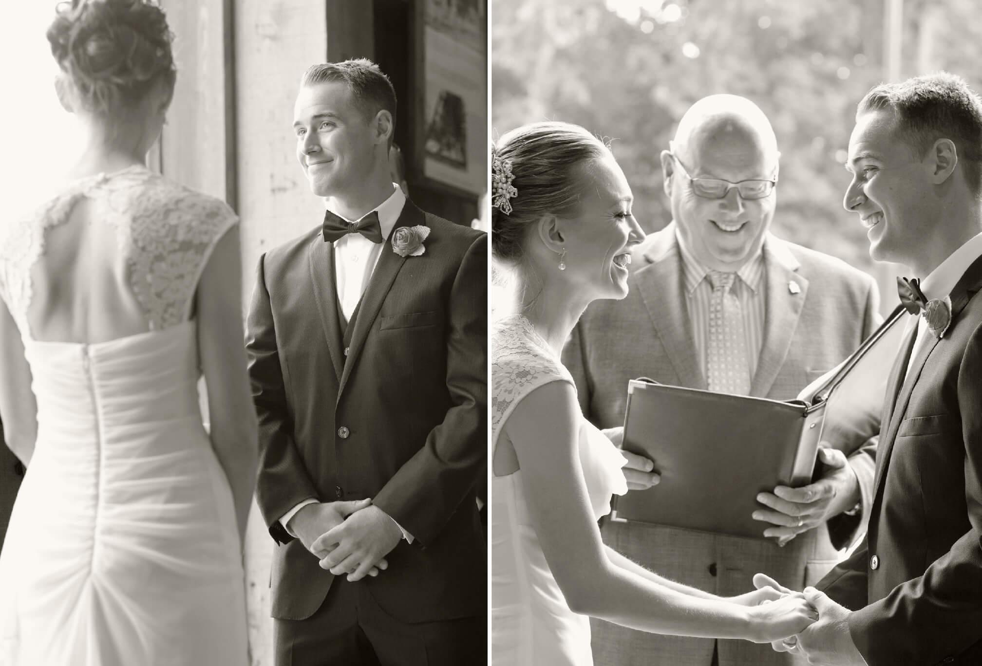 wedding ceremony in delta bc