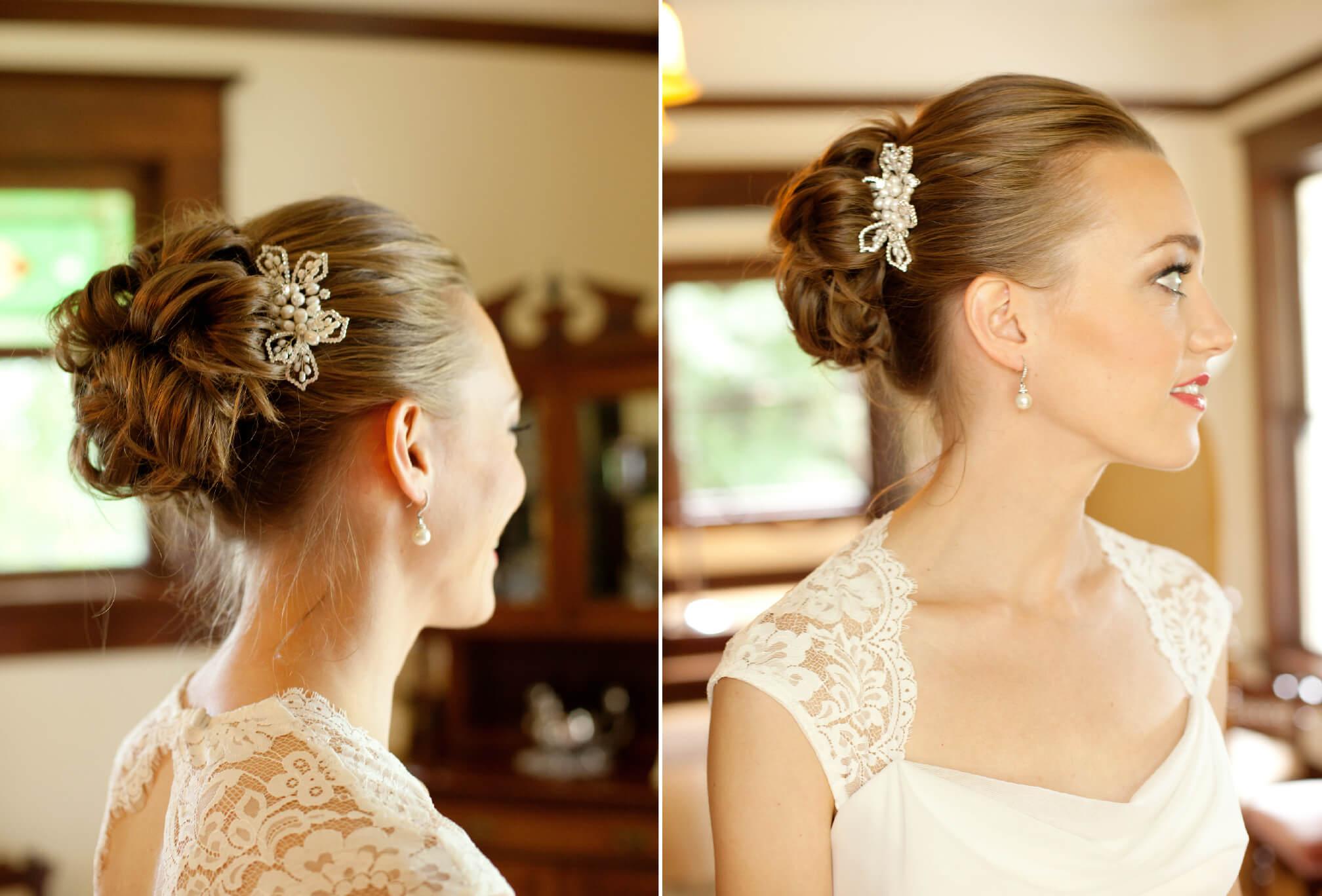 vintage bride style bc wedding