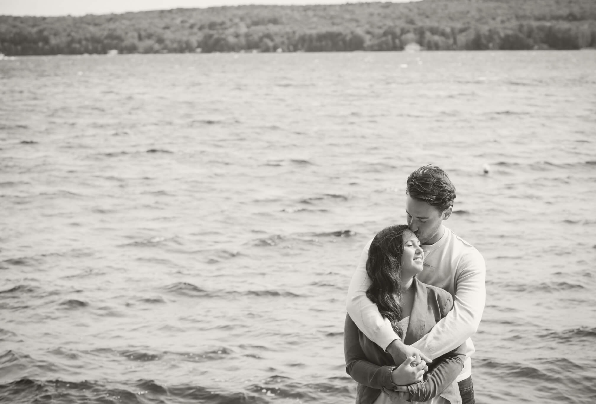bigwin island engagement photography