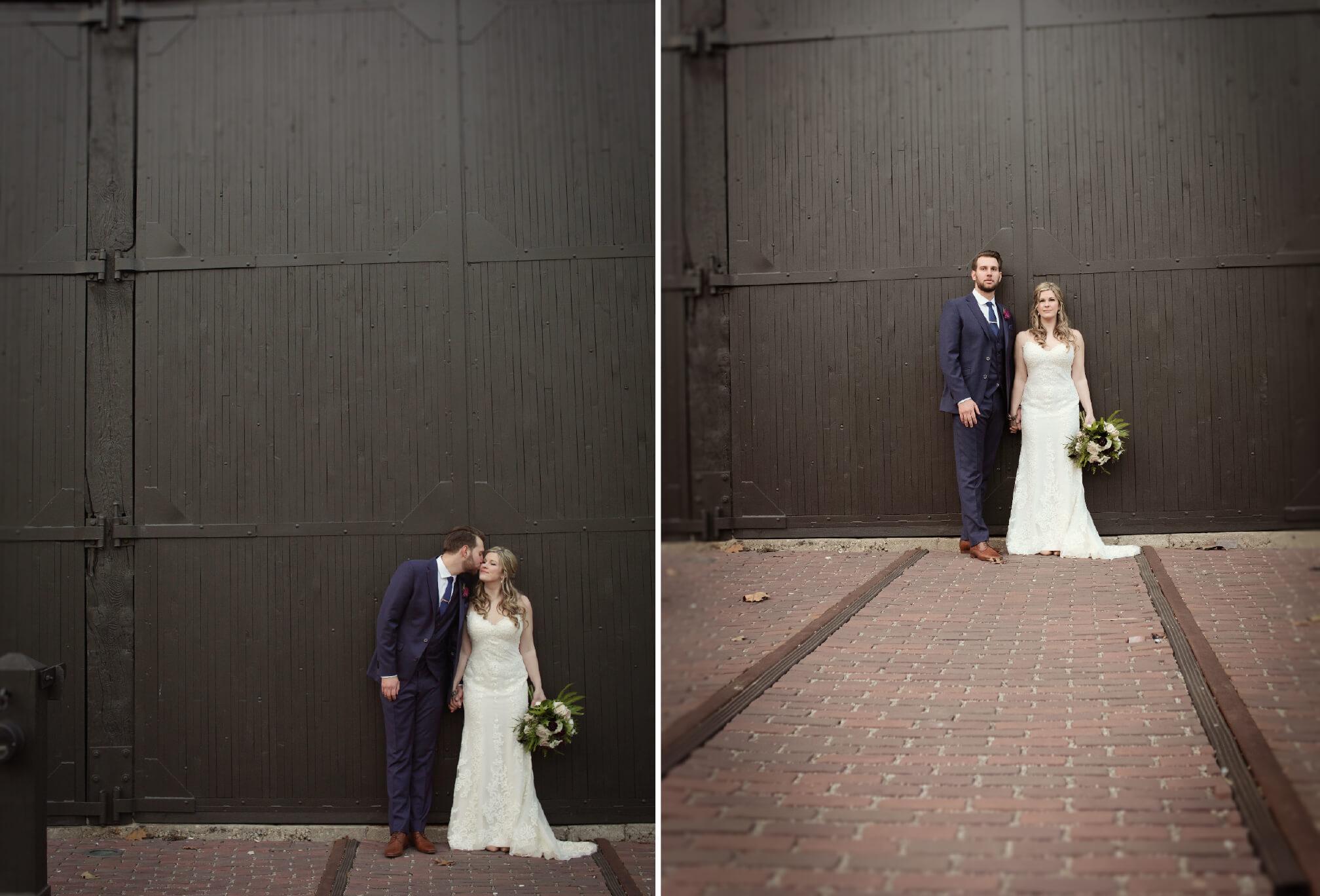 wedding photo ideas steam whistle toronto
